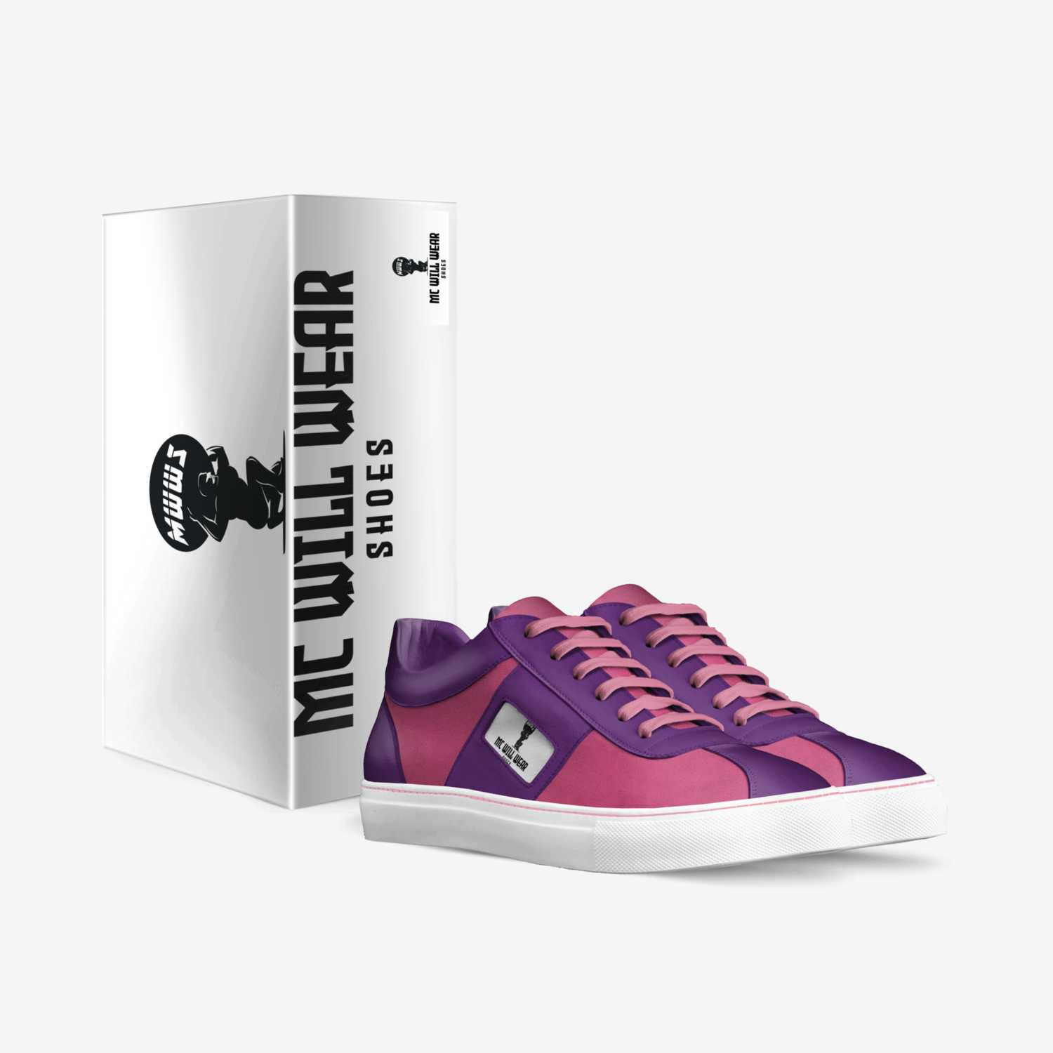 Mc Will Wear HER custom made in Italy shoes by Will Blockson | Box view