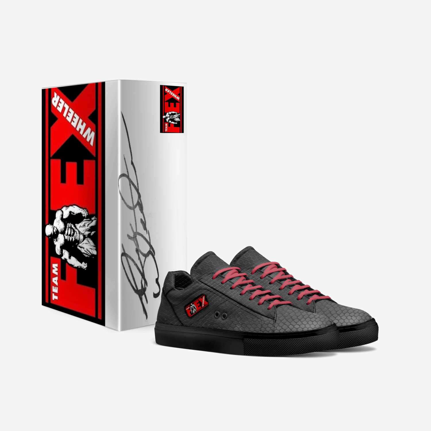 Flex Classic custom made in Italy shoes by Flex Wheeler | Box view