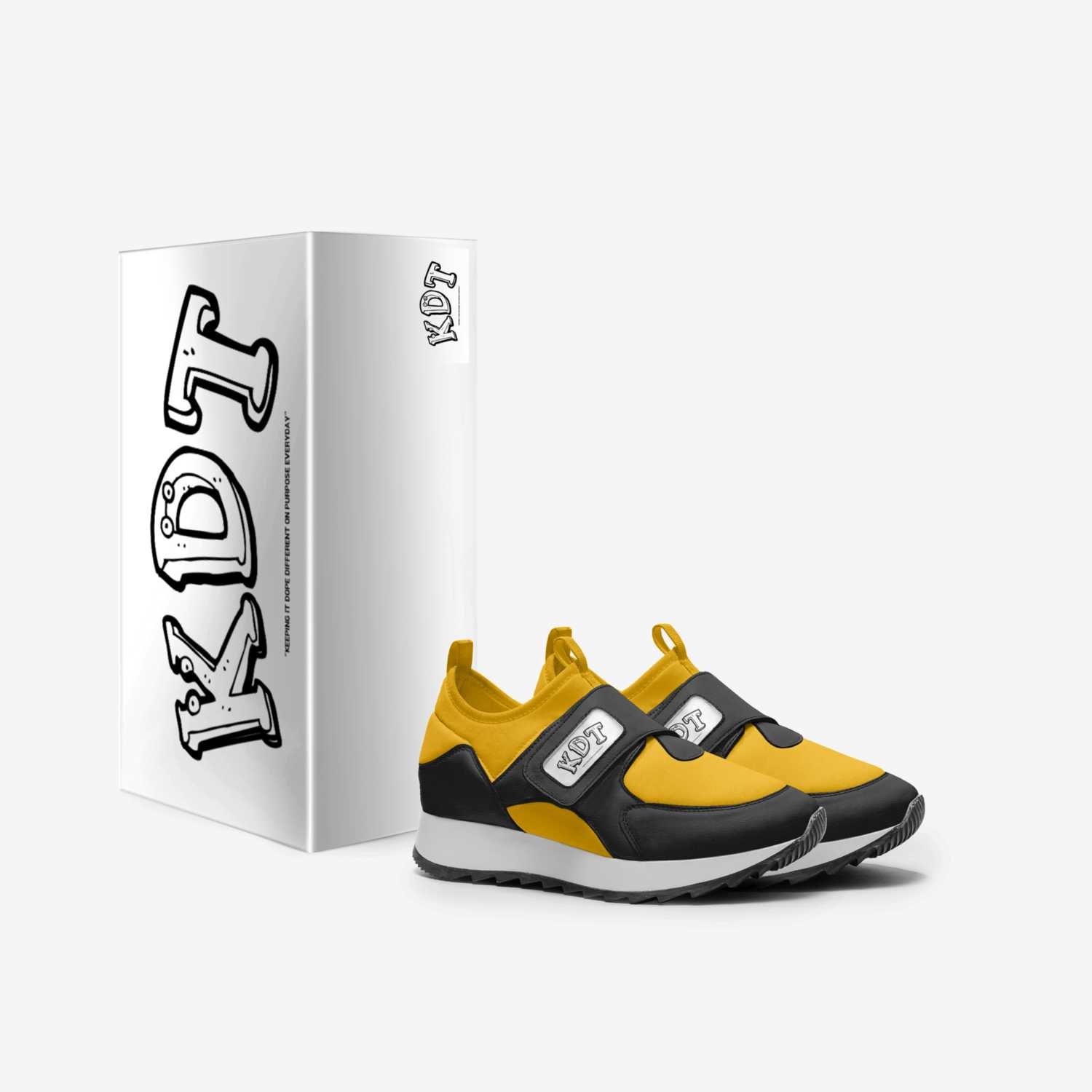 KIDDO I custom made in Italy shoes by Kuriyan Allen | Box view