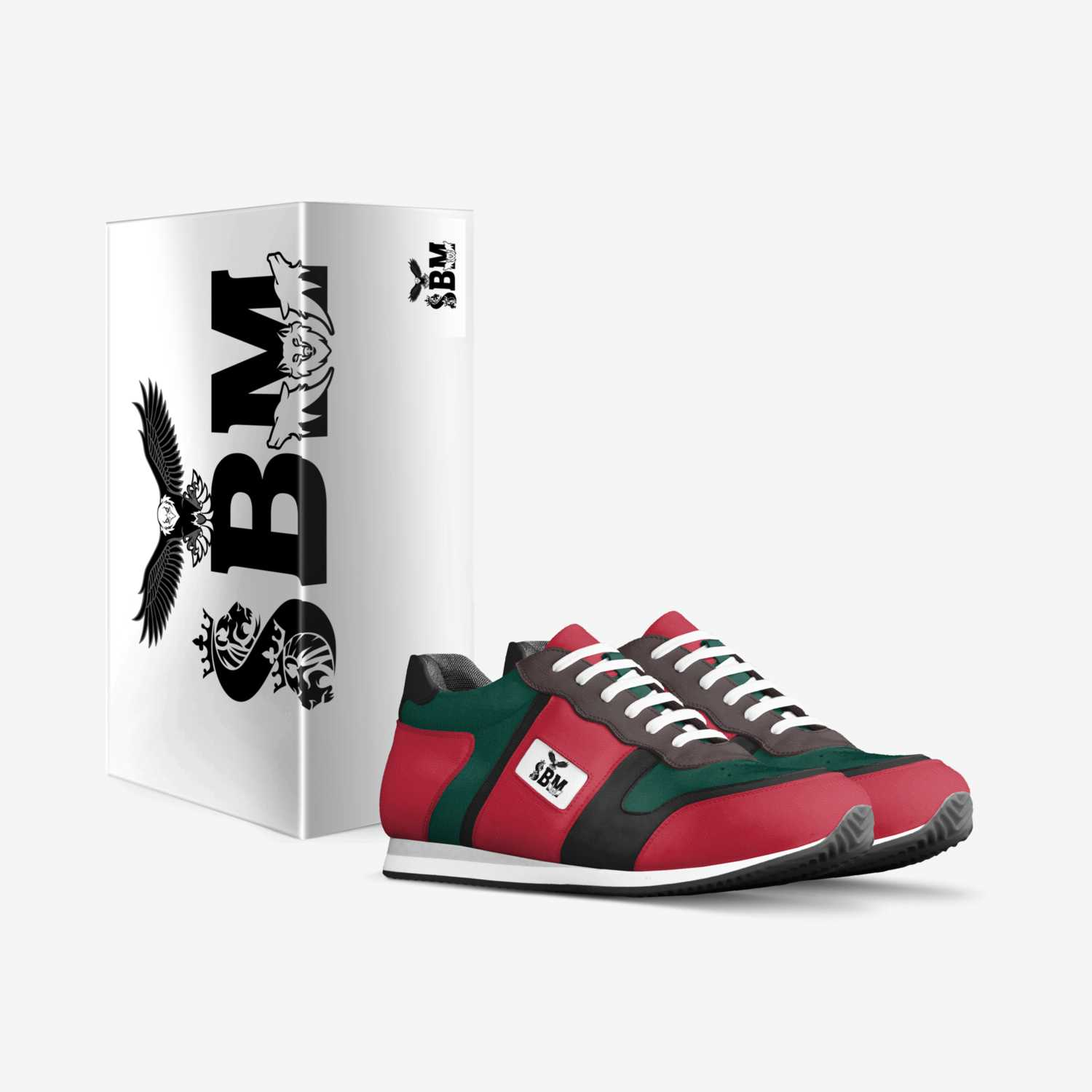 sbm custom made in Italy shoes by Roy Brooks   Box view