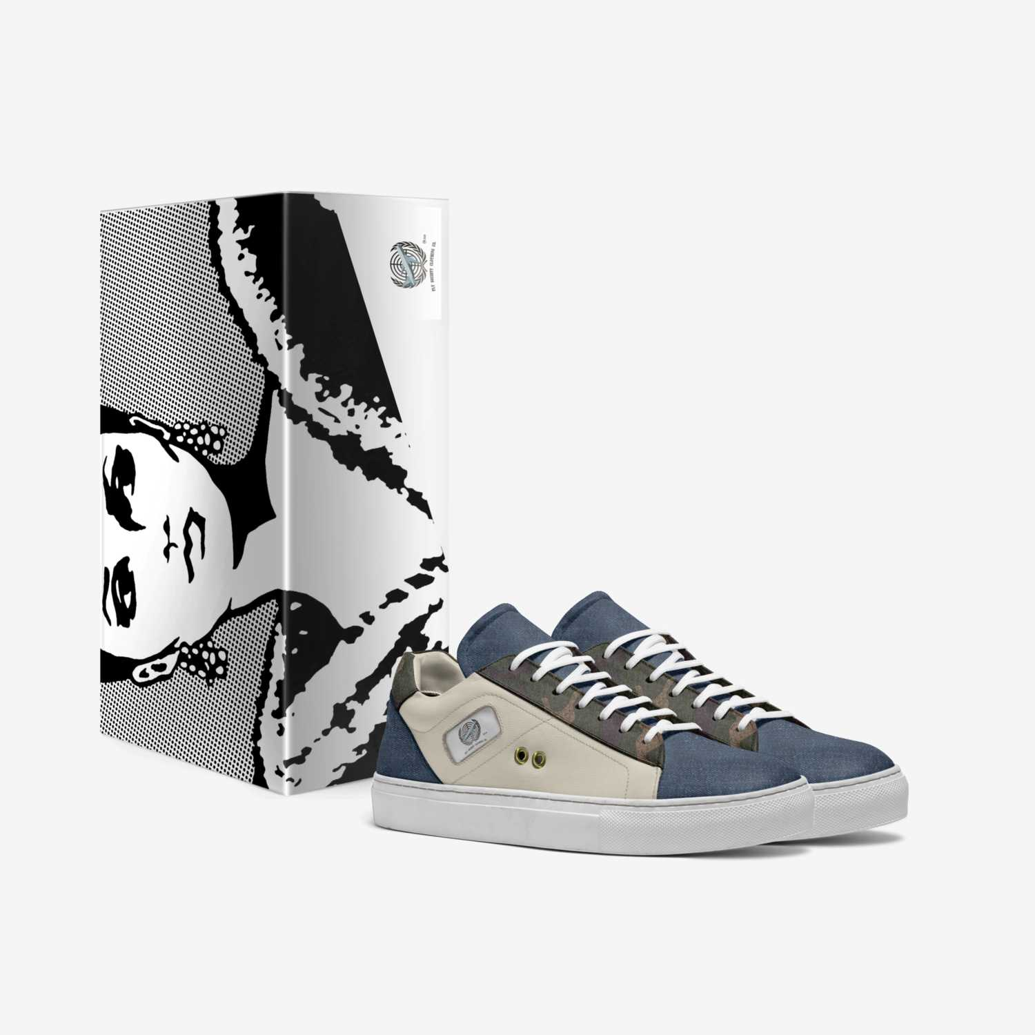 FLY SOCIETY 4 custom made in Italy shoes by Brent Johnson | Box view