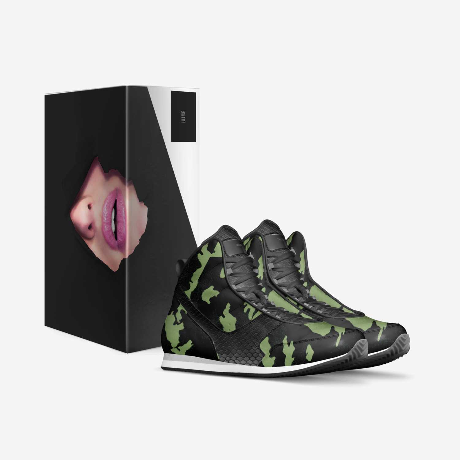 ULuxe custom made in Italy shoes by Gretchen Negron   Box view