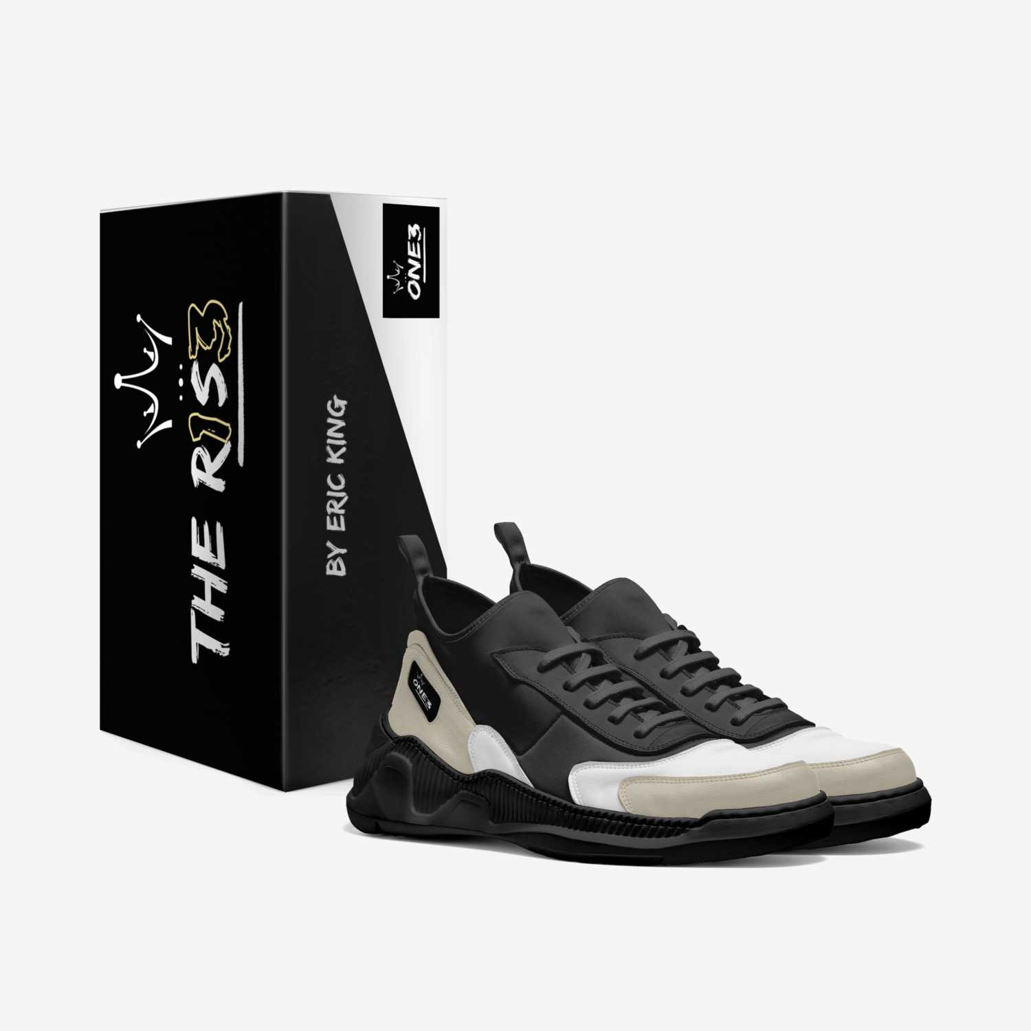The R1S3 custom made in Italy shoes by Eric King | Box view