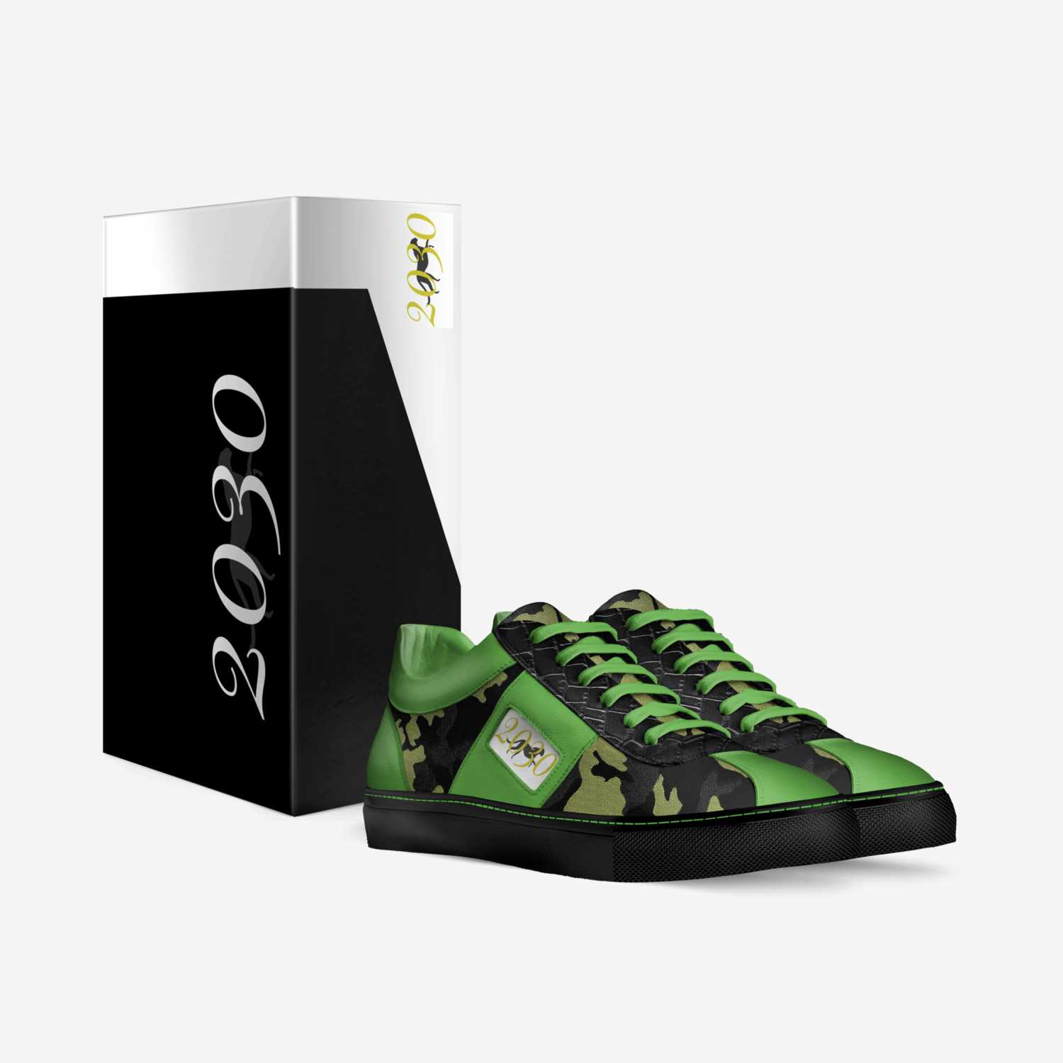 2030 custom made in Italy shoes by JuVon | Box view