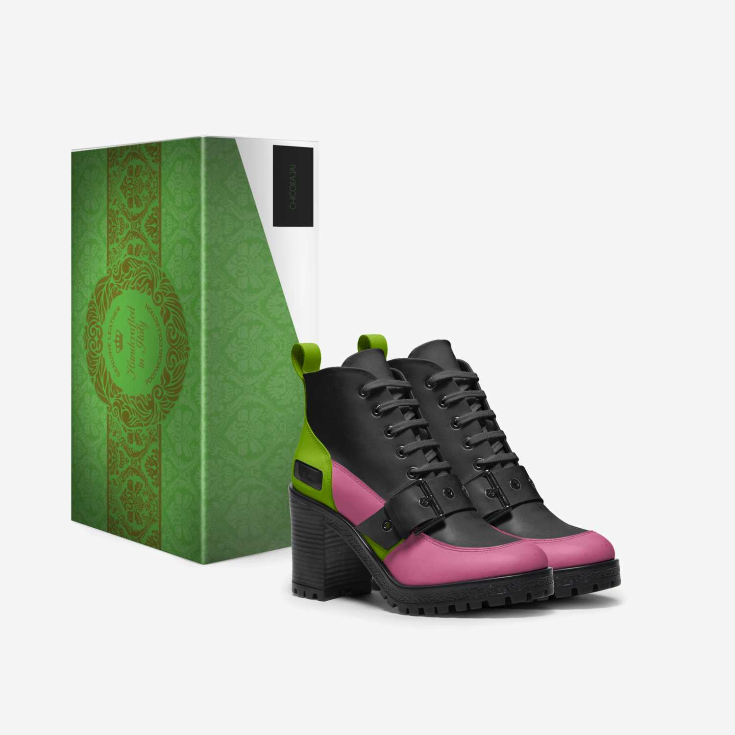 ChicoraJai custom made in Italy shoes by Chicora Johnson | Box view