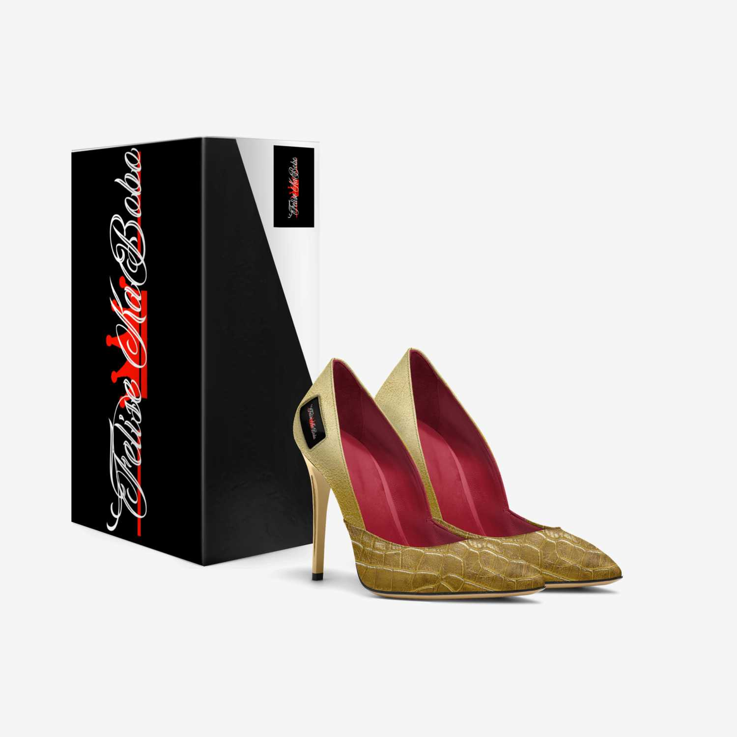 Felise KaBobo custom made in Italy shoes by Shamsud-din King   Box view