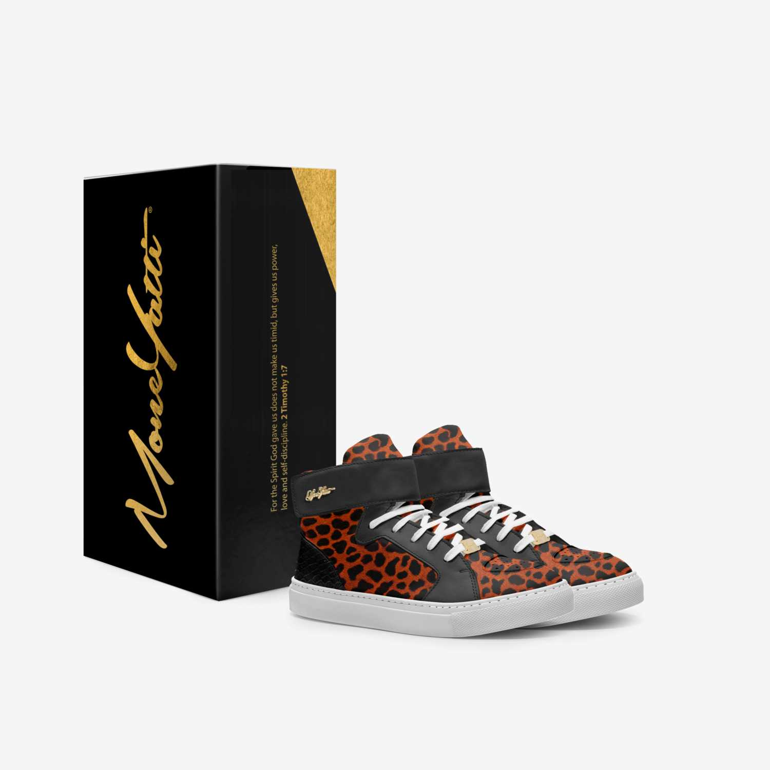 Moneyatti KidH07 custom made in Italy shoes by Moneyatti Brand | Box view