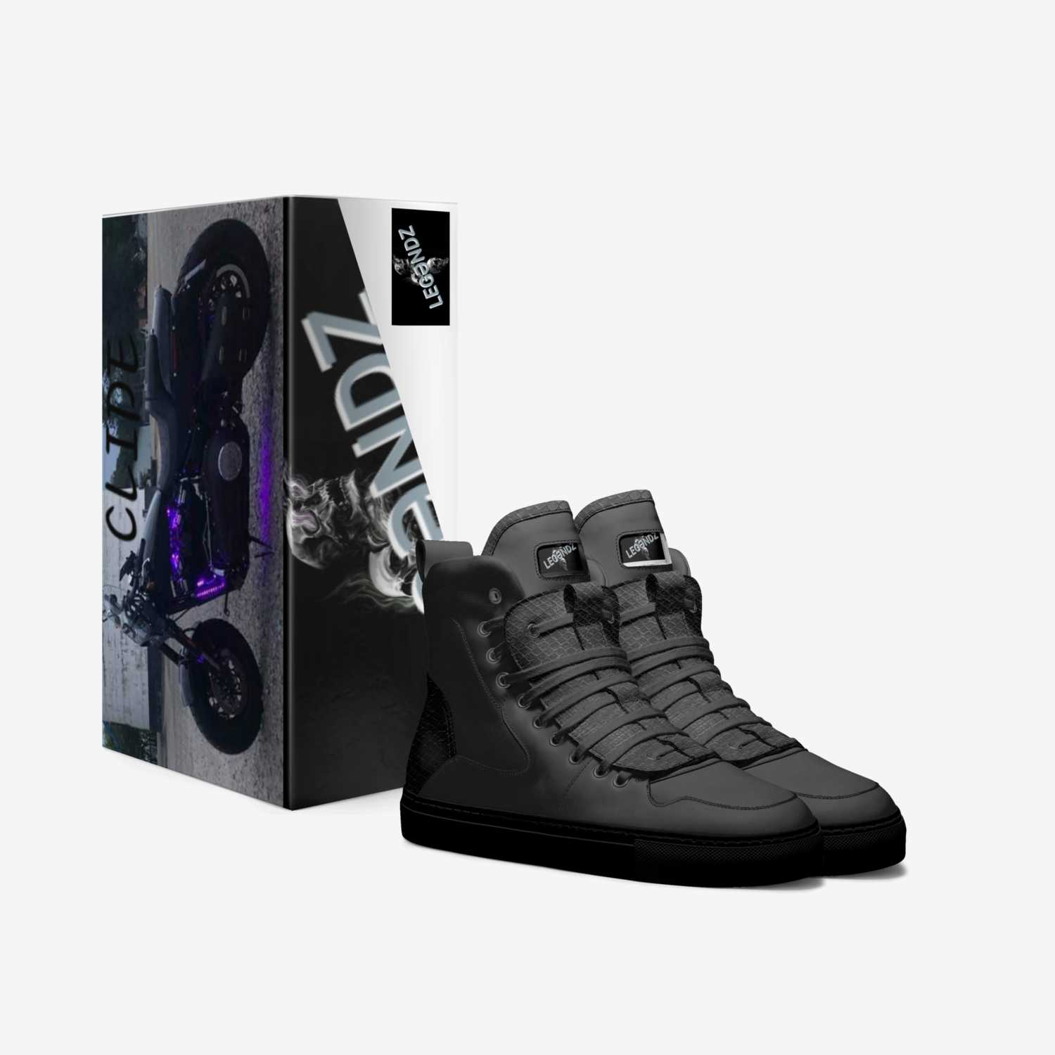 CLIDE custom made in Italy shoes by Juju & Najm Toomey | Box view