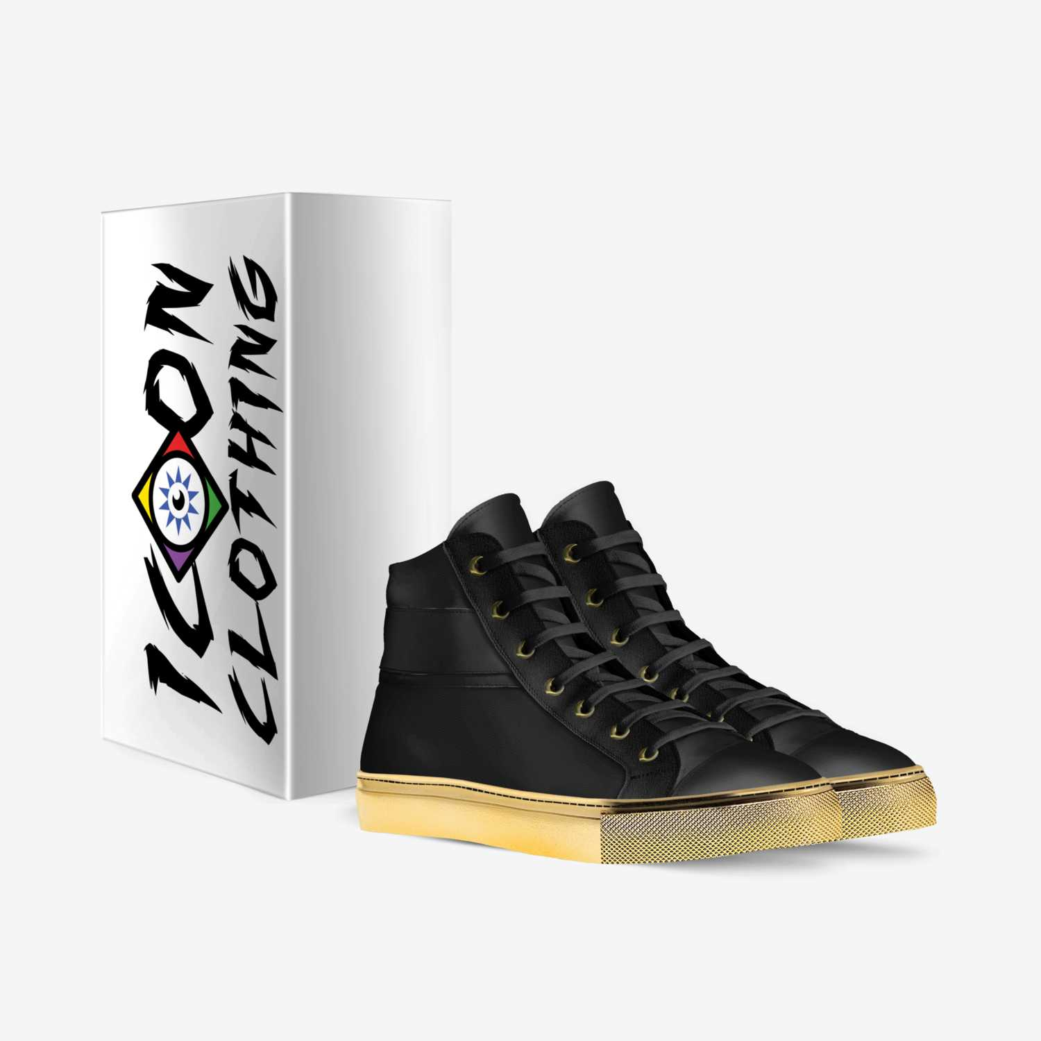 Airborne Skaters custom made in Italy shoes by Jordon Toomer | Box view