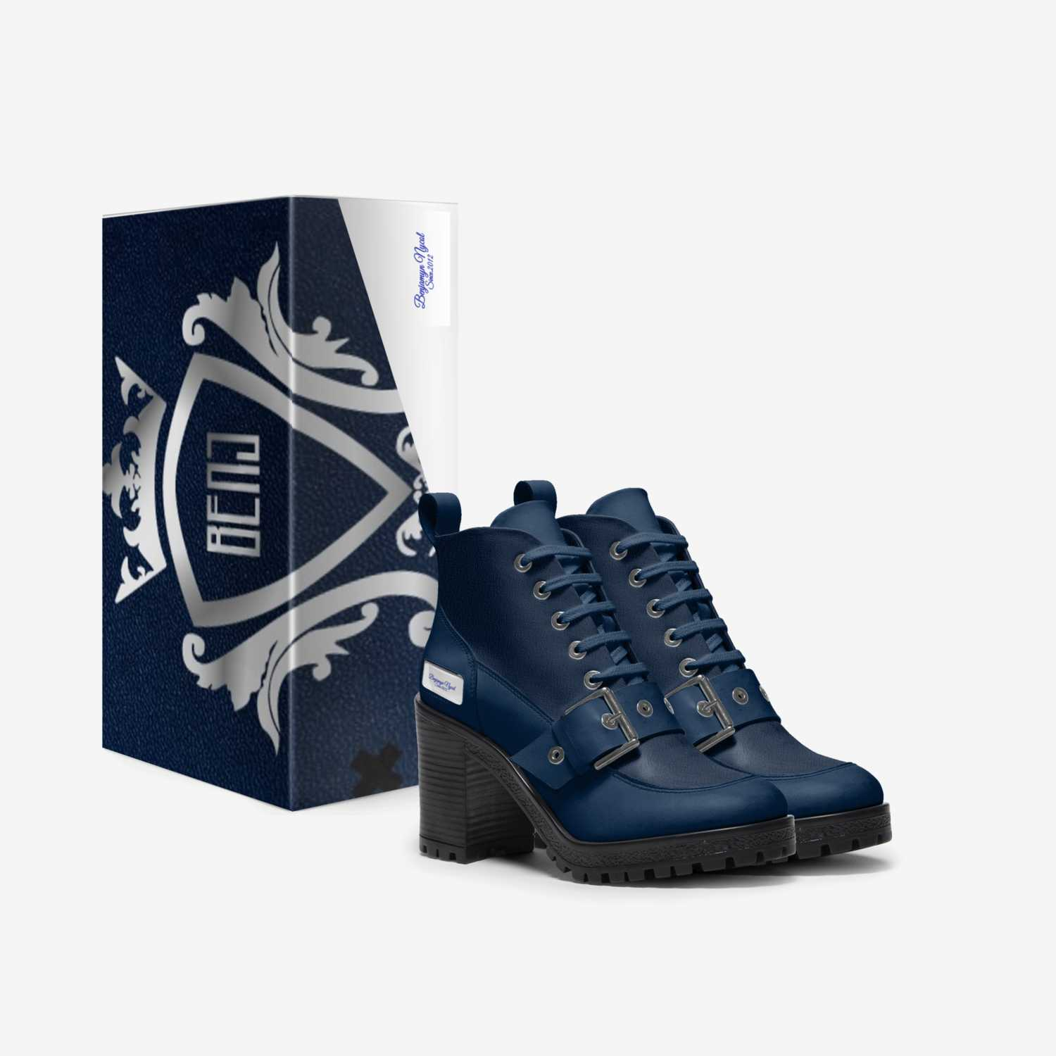 BENJAMYN NYCOL custom made in Italy shoes by Nicol Walker   Box view