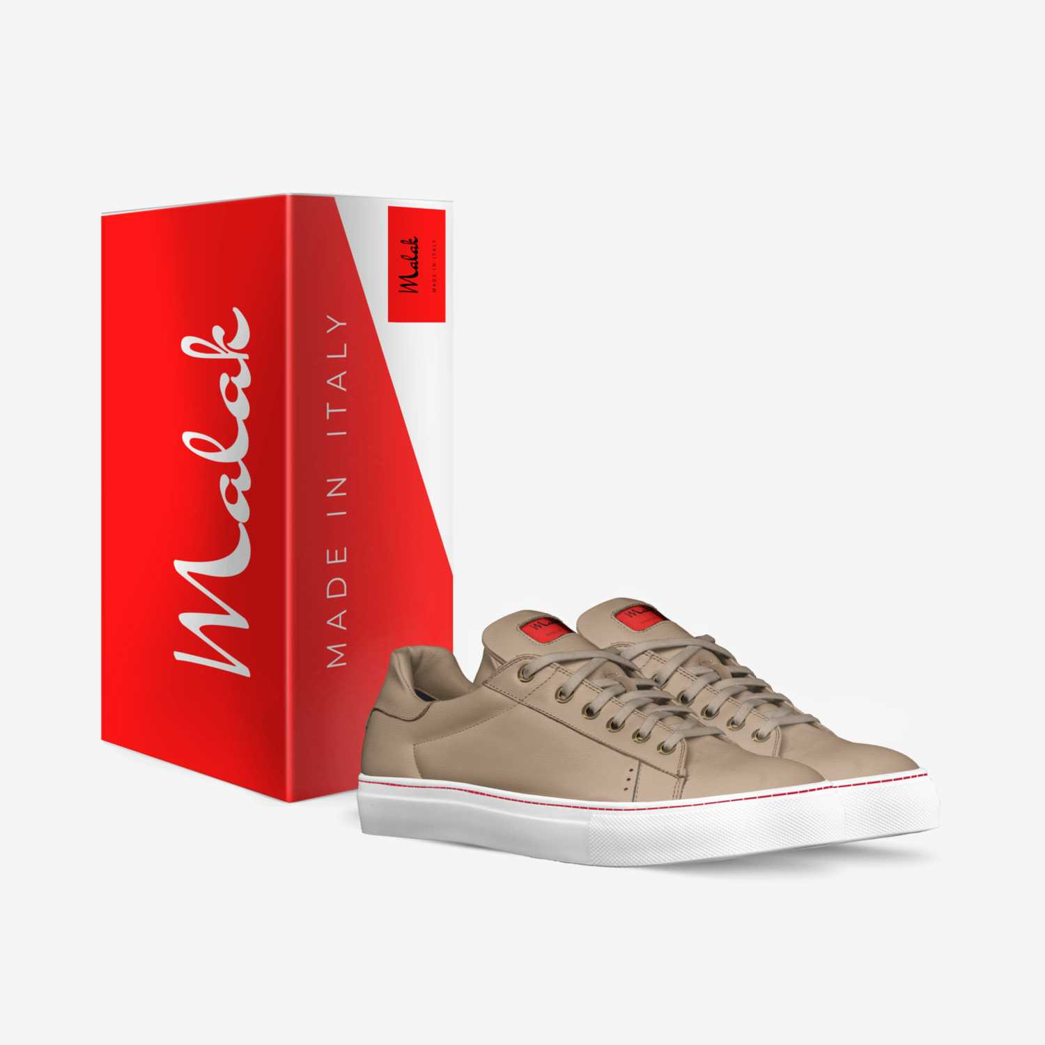 MALAK custom made in Italy shoes by Angel Penn | Box view