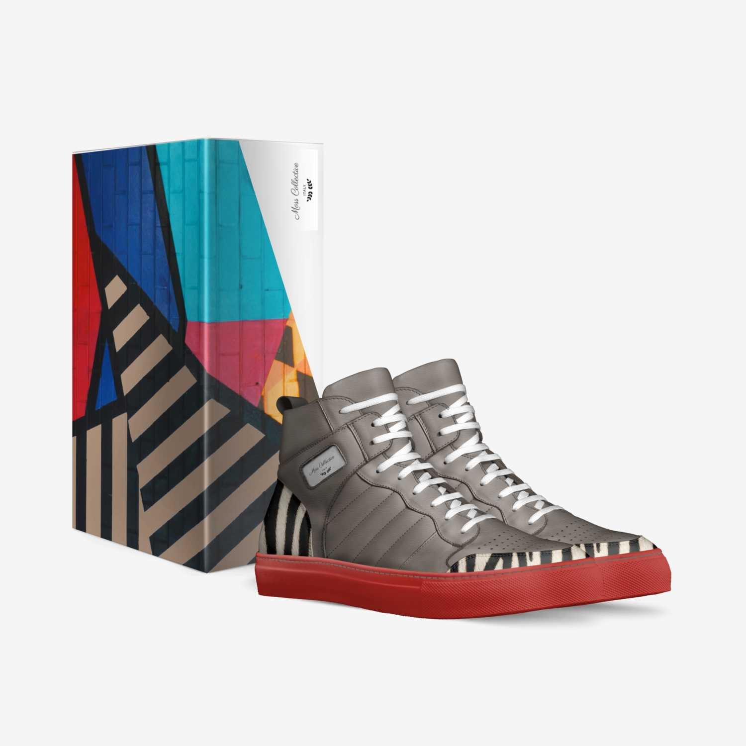 Moss Collective V4 custom made in Italy shoes by Brian Mcfarley   Box view