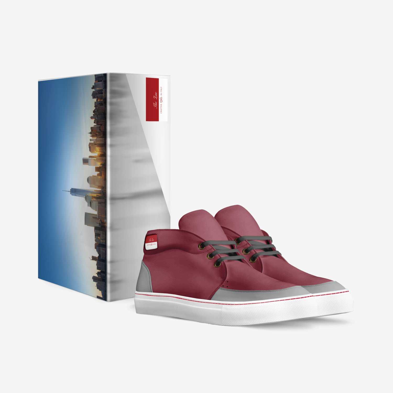Zae custom made in Italy shoes by Tina La Rosa | Box view