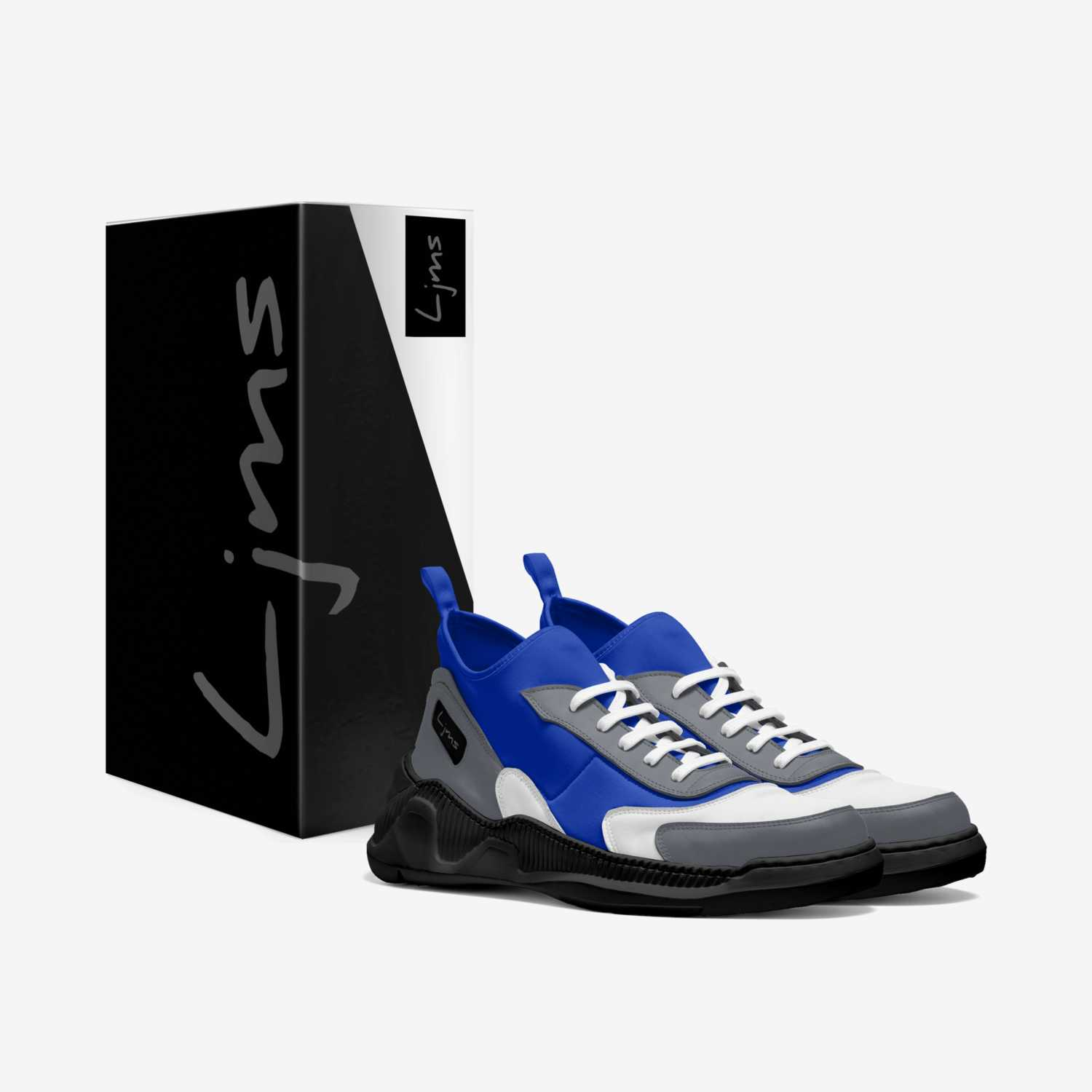 Ljms-Tracks  custom made in Italy shoes by Ljms Fashion | Box view