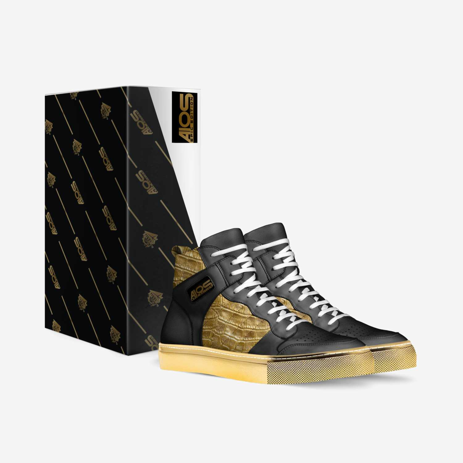 A10s- Epic Edition custom made in Italy shoes by Antonio Holloman | Box view
