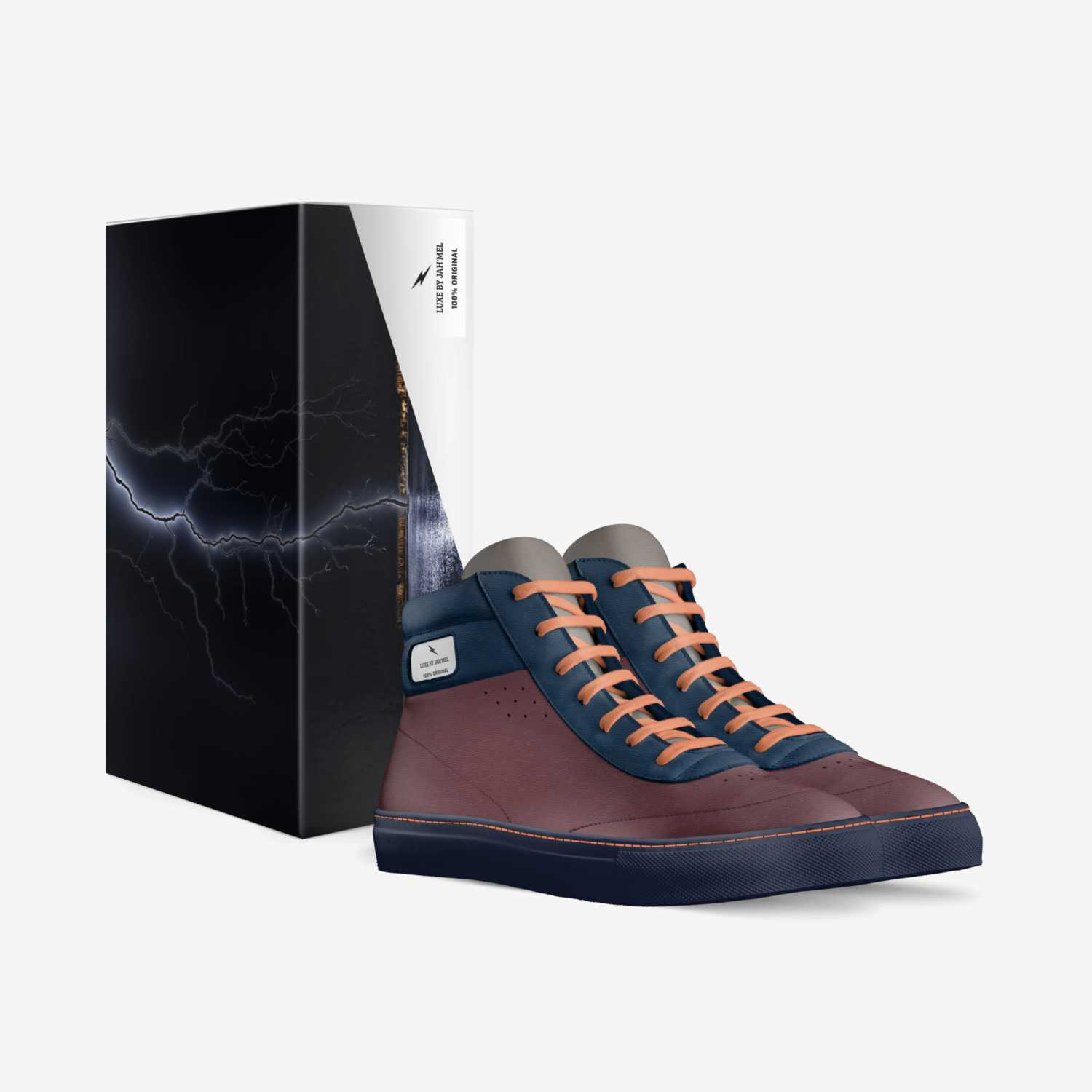 LUXE BY Jah'Mel custom made in Italy shoes by Jamel Smalls | Box view