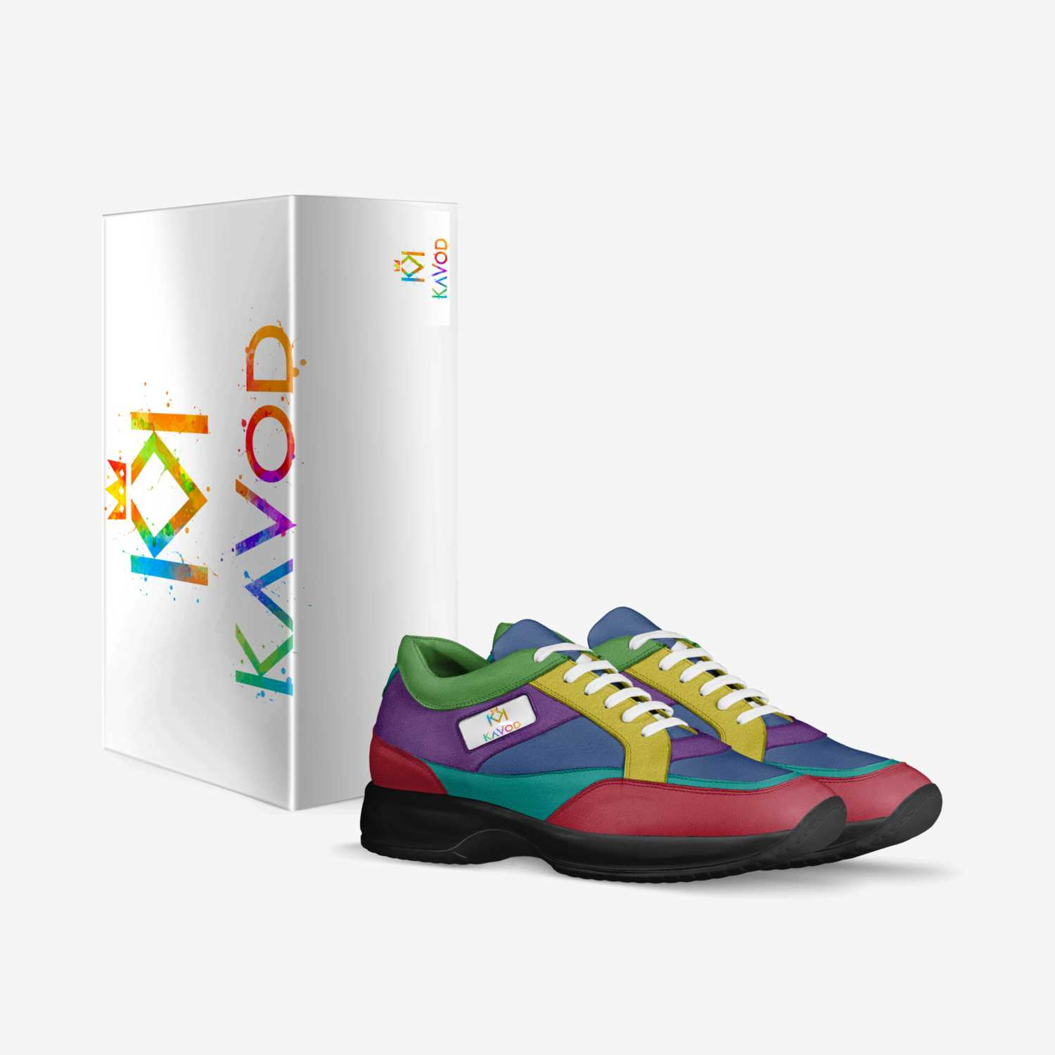 KaVod Collection  custom made in Italy shoes by Naim Collins | Box view