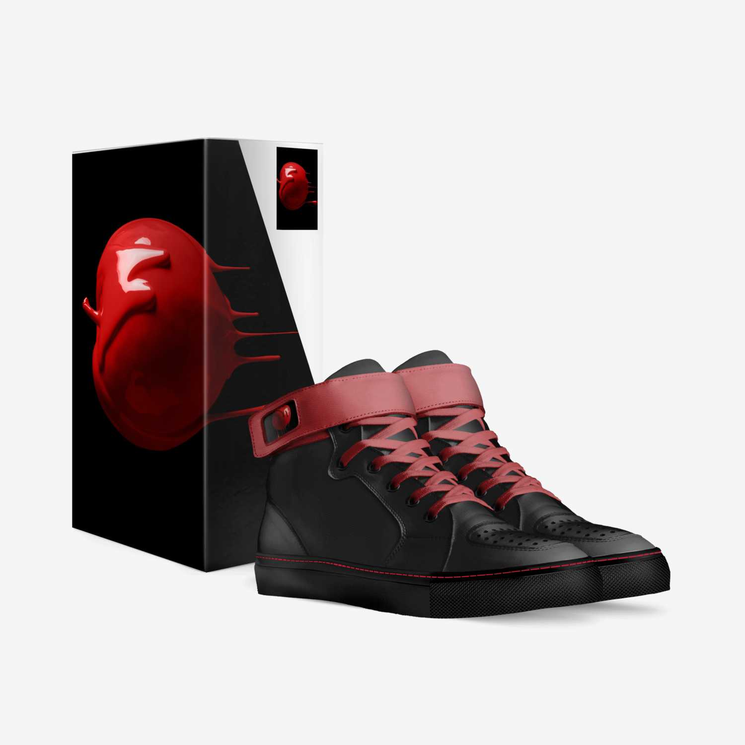 DrRiP custom made in Italy shoes by Corey Boggess | Box view