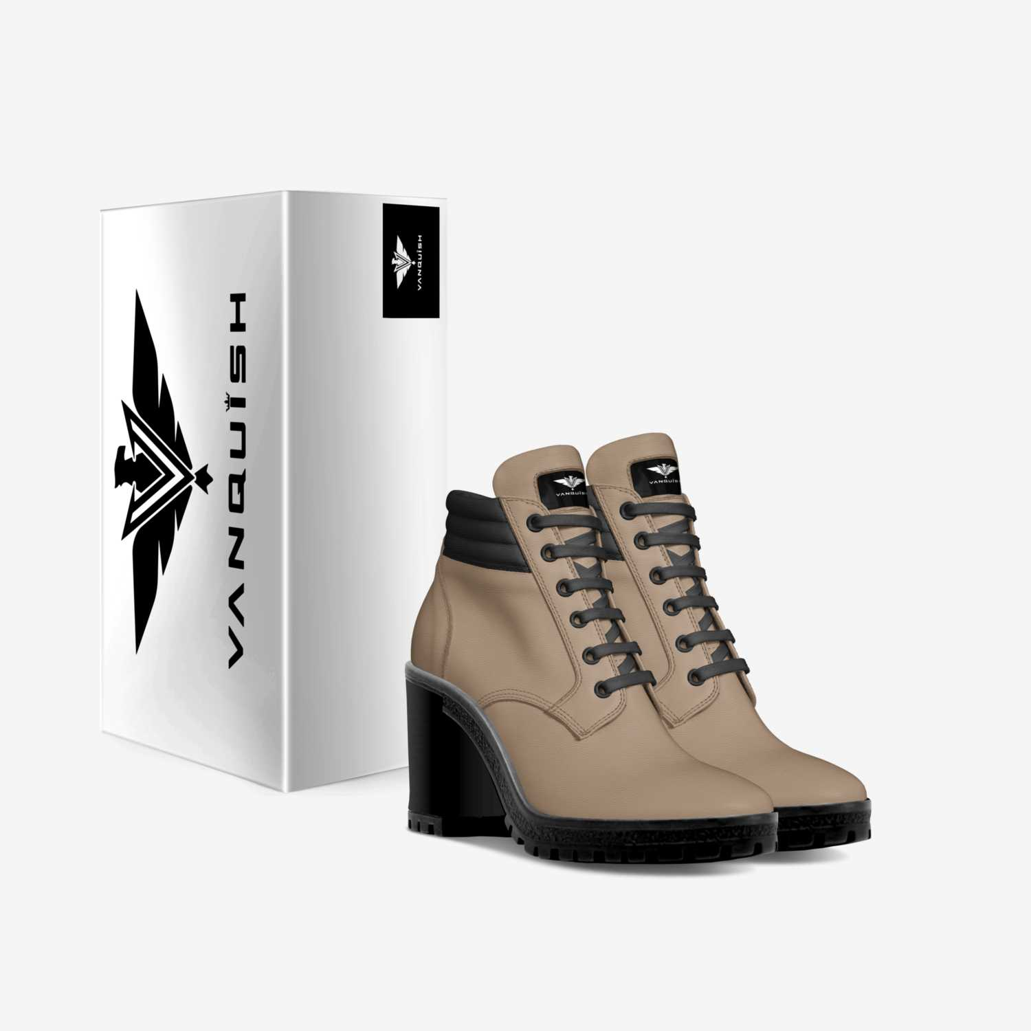 QUEENZ custom made in Italy shoes by Aaron Diesel | Box view