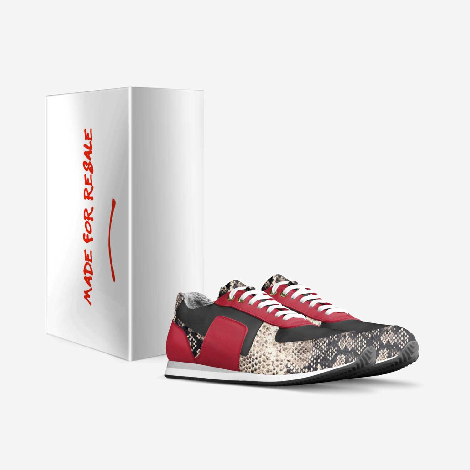 Art custom made in Italy shoes by Aaron Turner | Box view