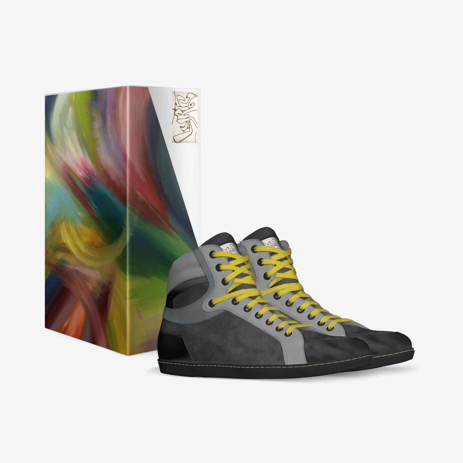 Lyrical custom made in Italy shoes by Clinton Daniel | Box view