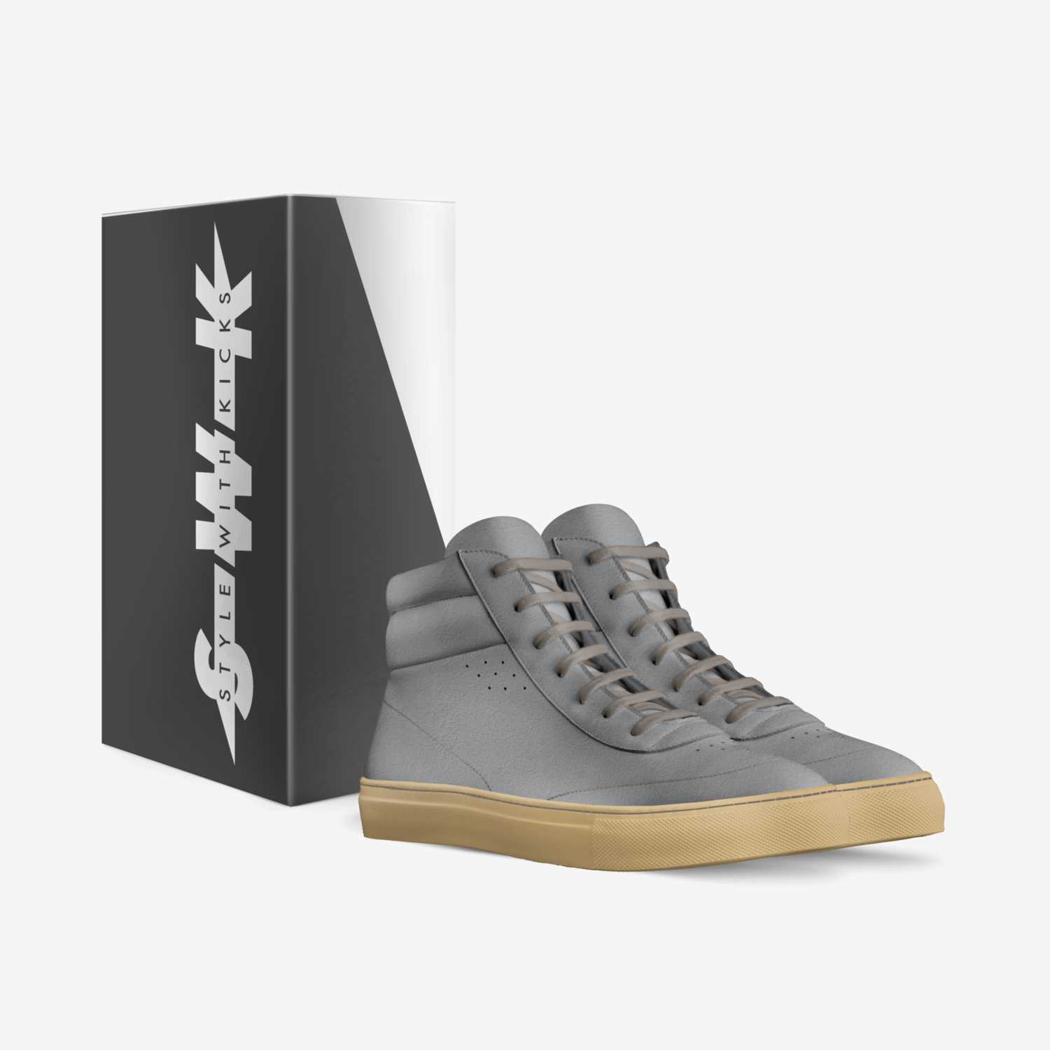 Cemento Duro  custom made in Italy shoes by Style With Kicks | Box view