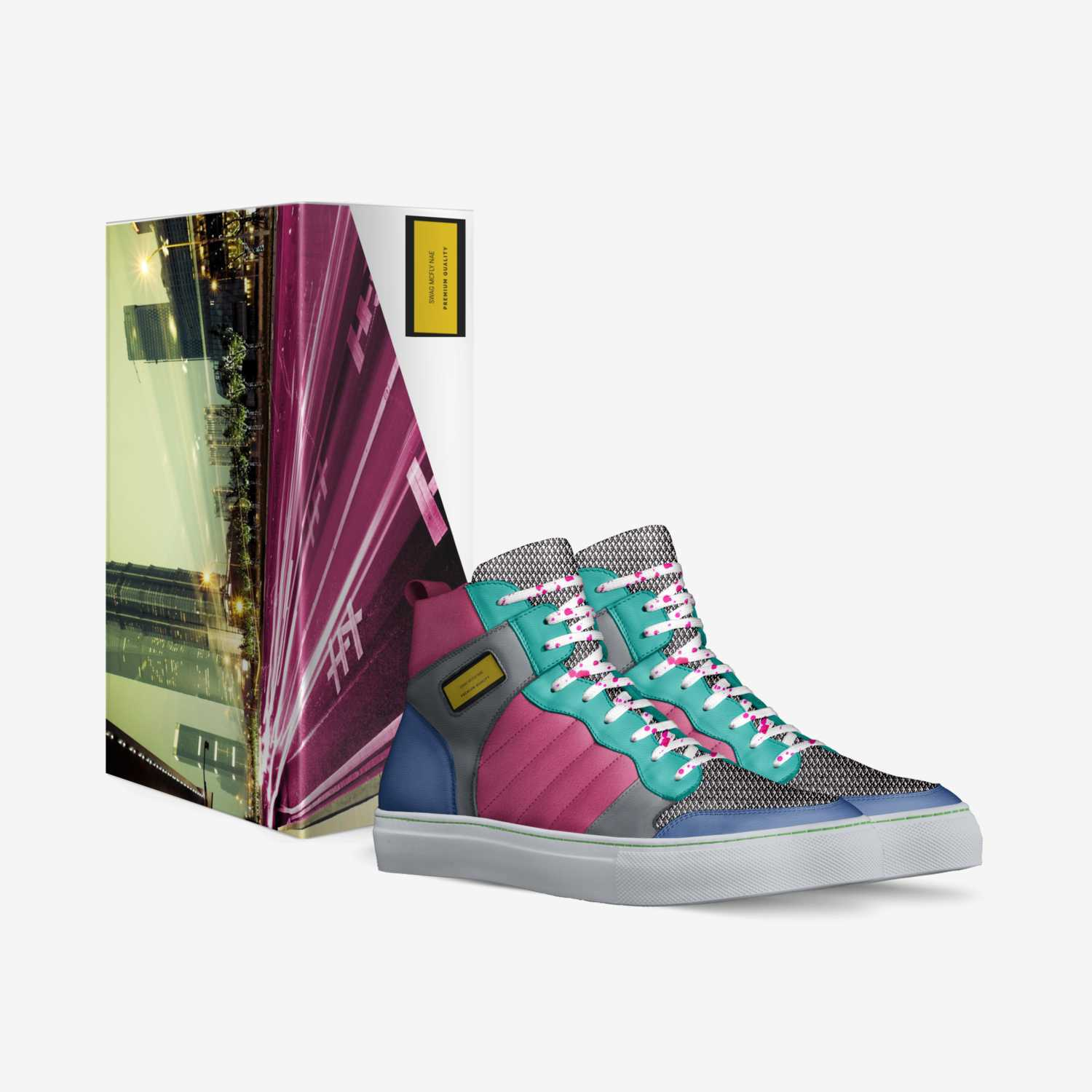 Swag McFly Nae custom made in Italy shoes by Rechard R Newman   Box view