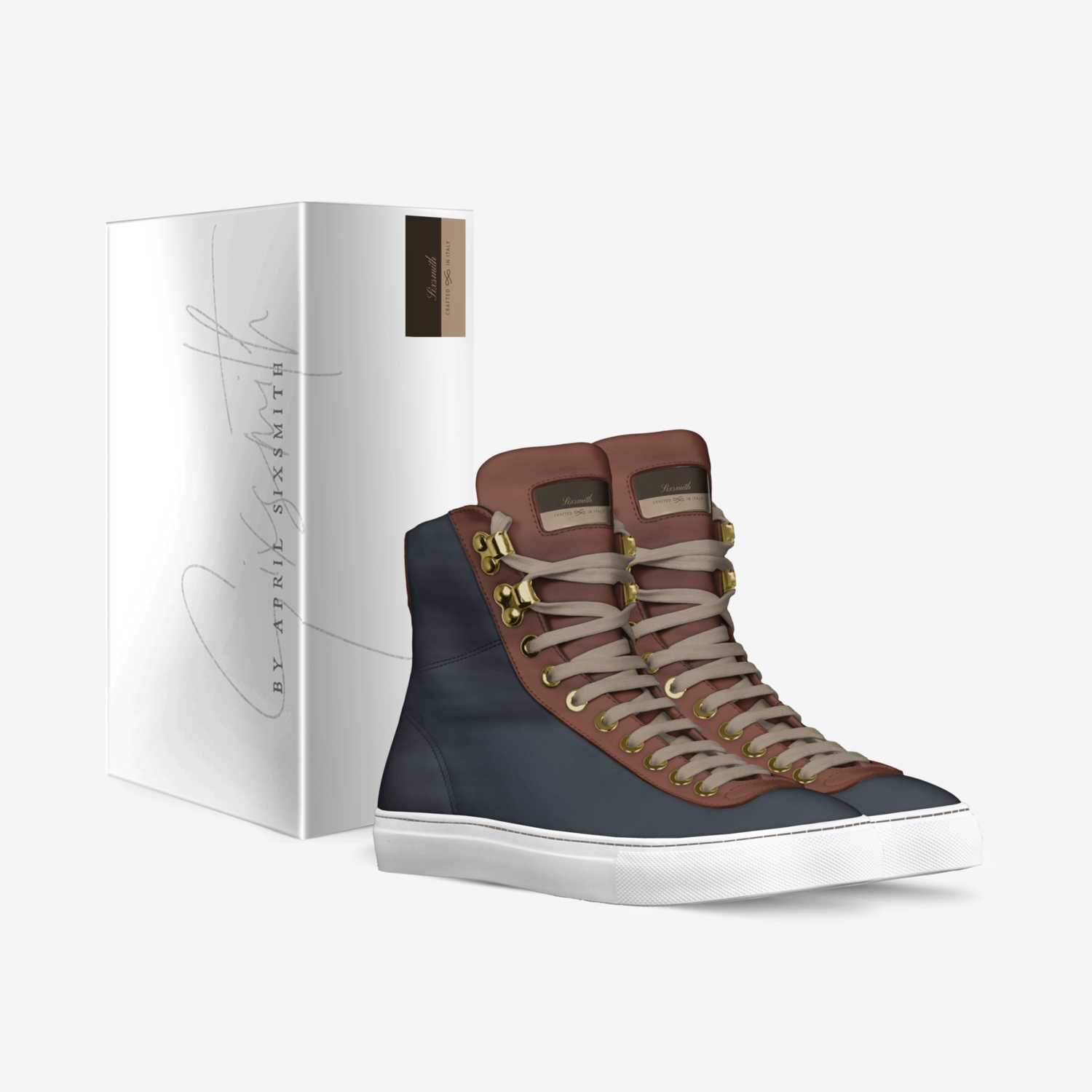 Sixsmith custom made in Italy shoes by April Sixsmith | Box view