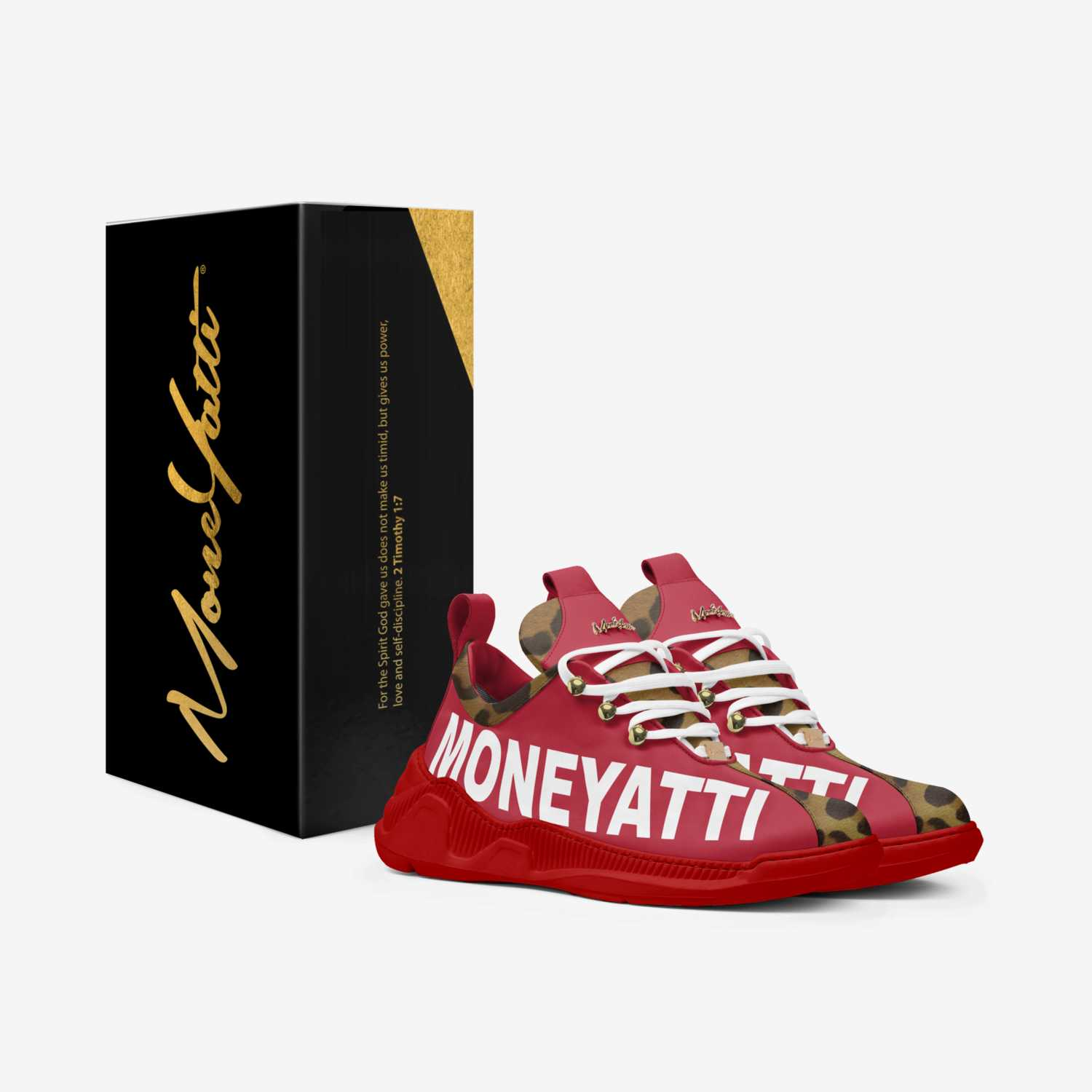 Sig01 custom made in Italy shoes by Moneyatti Brand | Box view