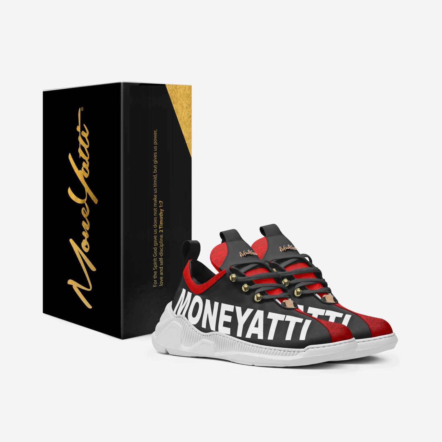Sig02 custom made in Italy shoes by Moneyatti Brand | Box view