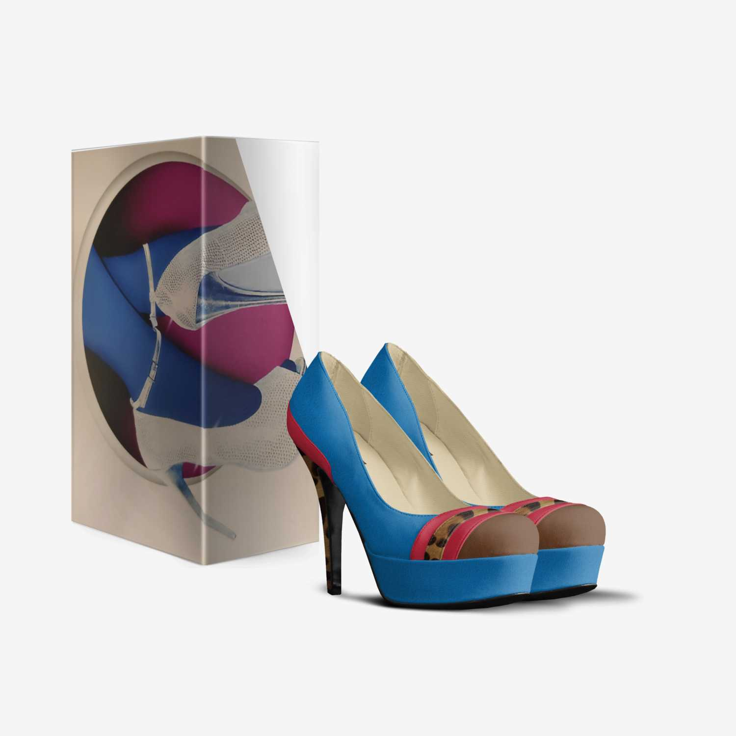 TWO STEPS custom made in Italy shoes by Sherry Matchett | Box view