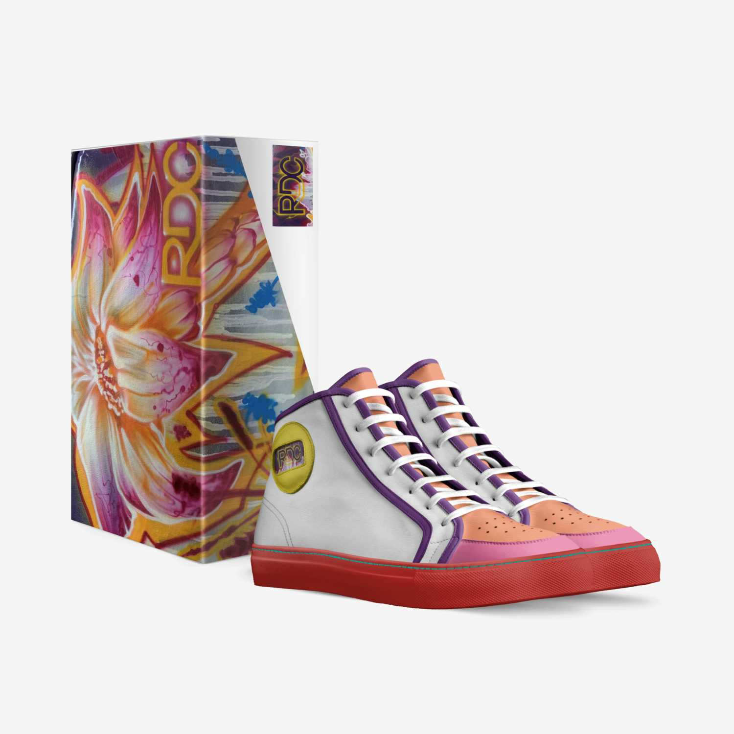 RDC  infinities01 custom made in Italy shoes by Dion Christopher | Box view