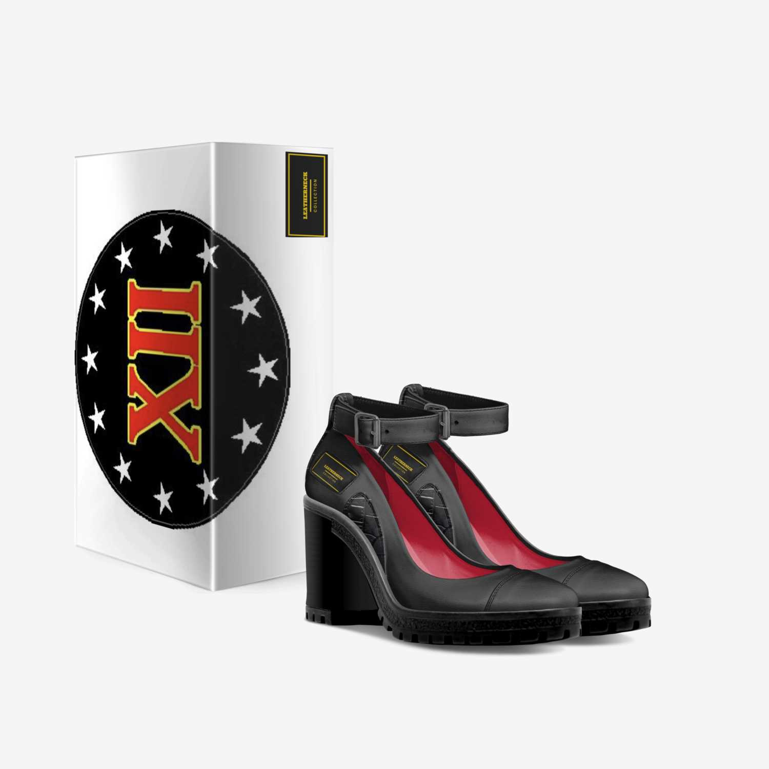 Leatherneck custom made in Italy shoes by Richard Dinnan | Box view