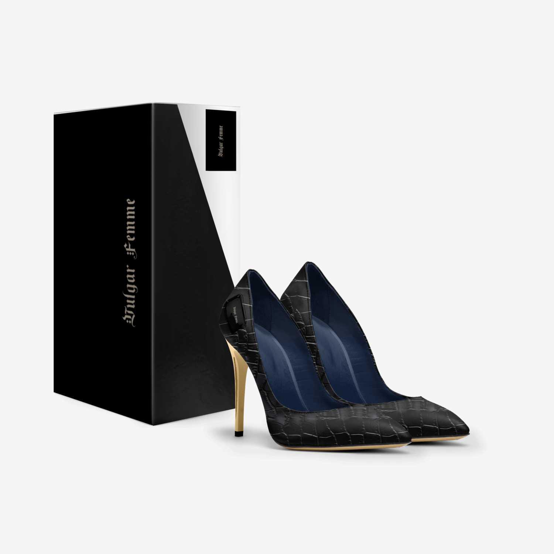 Vulgar Femme  custom made in Italy shoes by Caroline Katharina | Box view