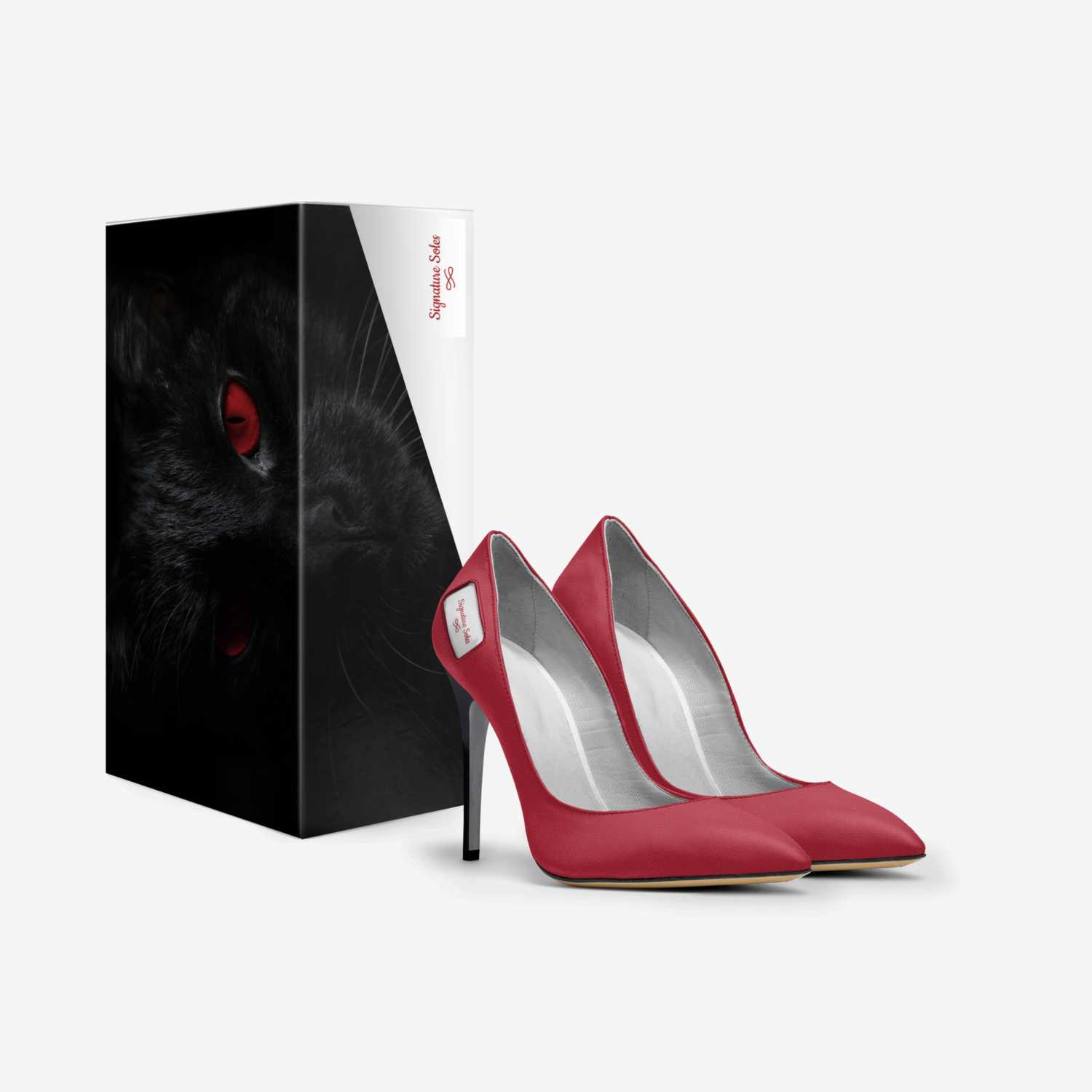 Signature Soles custom made in Italy shoes by Terra Barnes | Box view