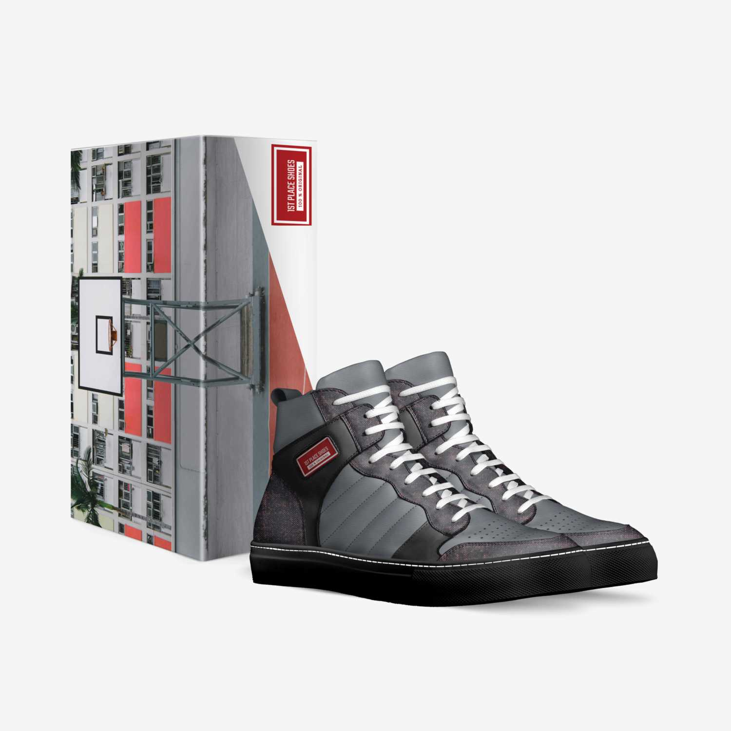 1st Place Shoes custom made in Italy shoes by Jonnie Kae | Box view