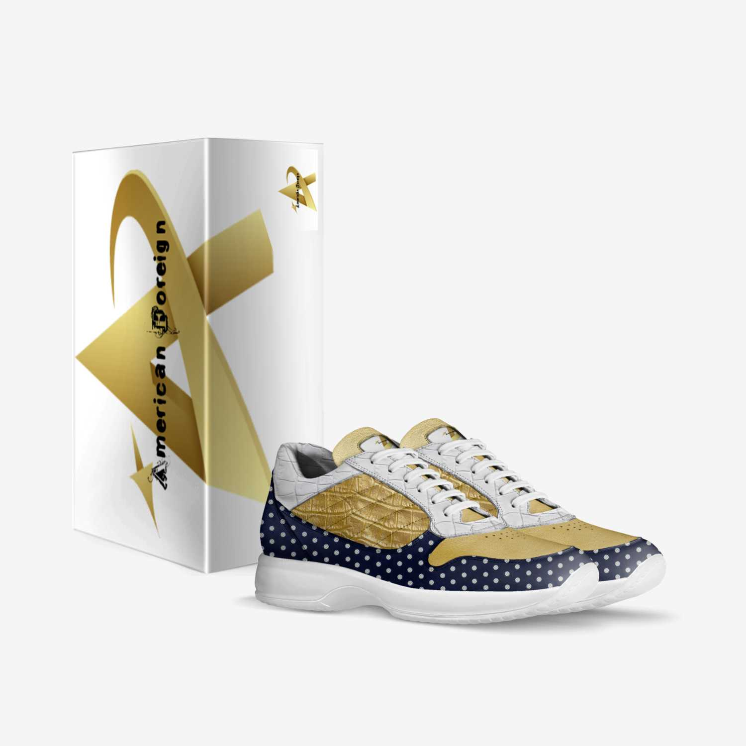 American Foreign custom made in Italy shoes by Terico L Thompson | Box view