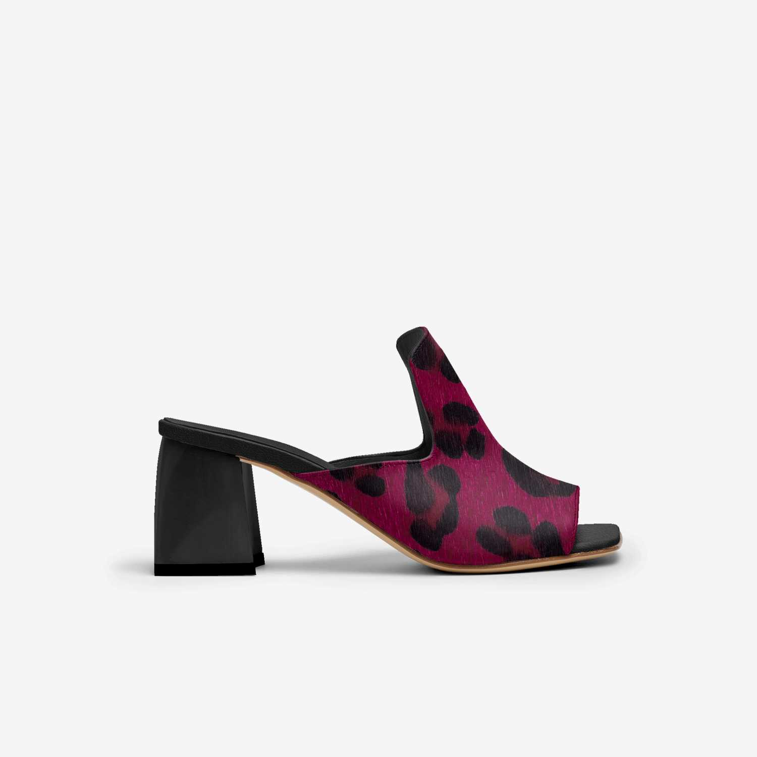 Freda custom made in Italy shoes by Calvina Morris   Side view
