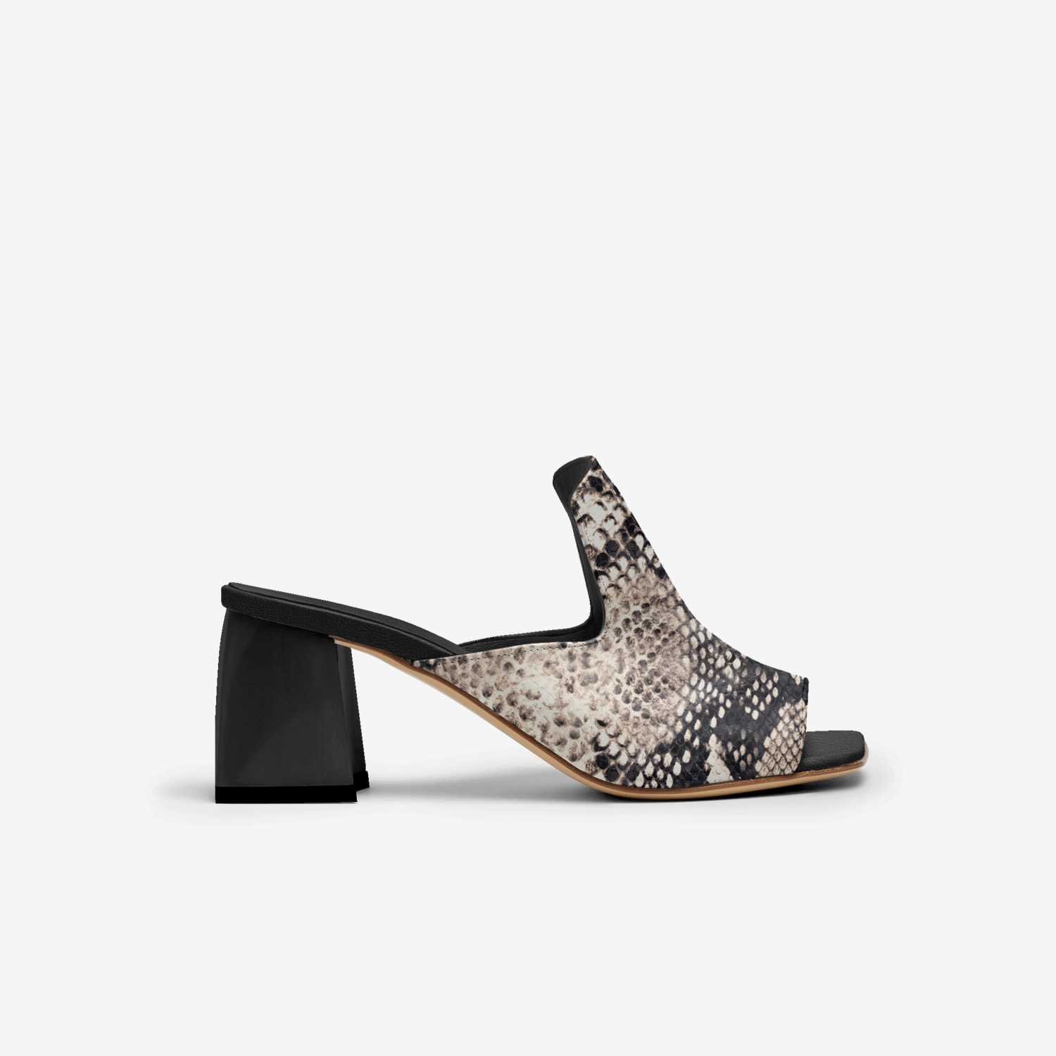 Leonda custom made in Italy shoes by Calvina Morris | Side view