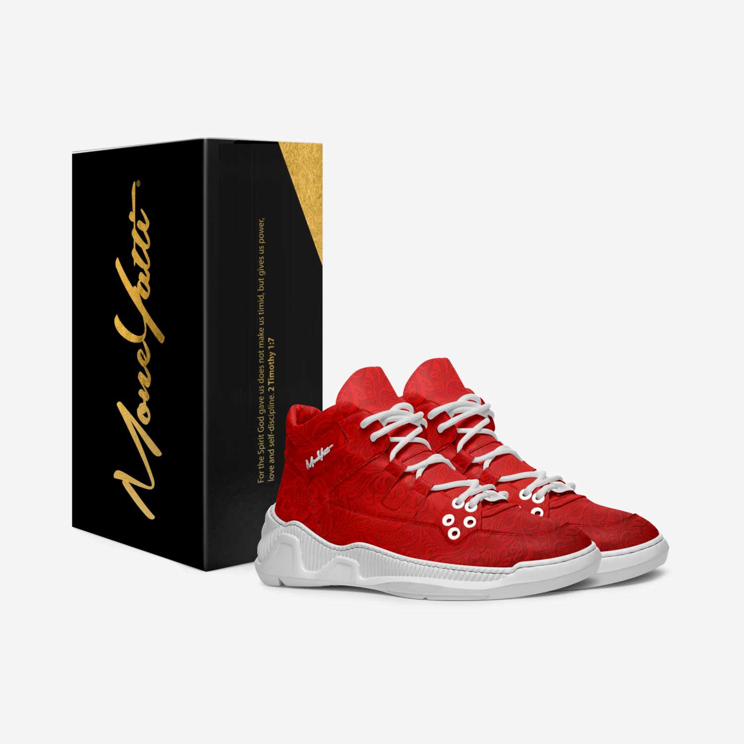 Masterpiece 001 custom made in Italy shoes by Moneyatti Brand | Box view