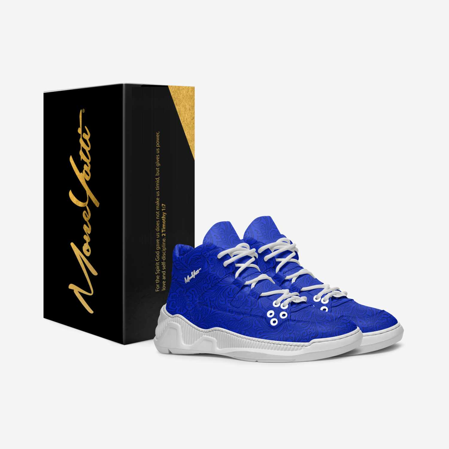 Masterpiece 003 custom made in Italy shoes by Moneyatti Brand | Box view