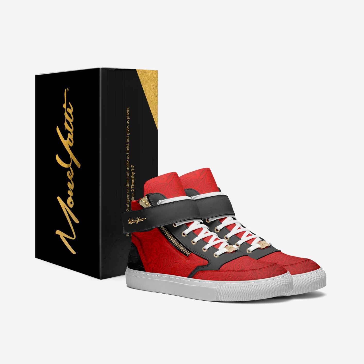 Masterpiece 40 custom made in Italy shoes by Moneyatti Brand   Box view