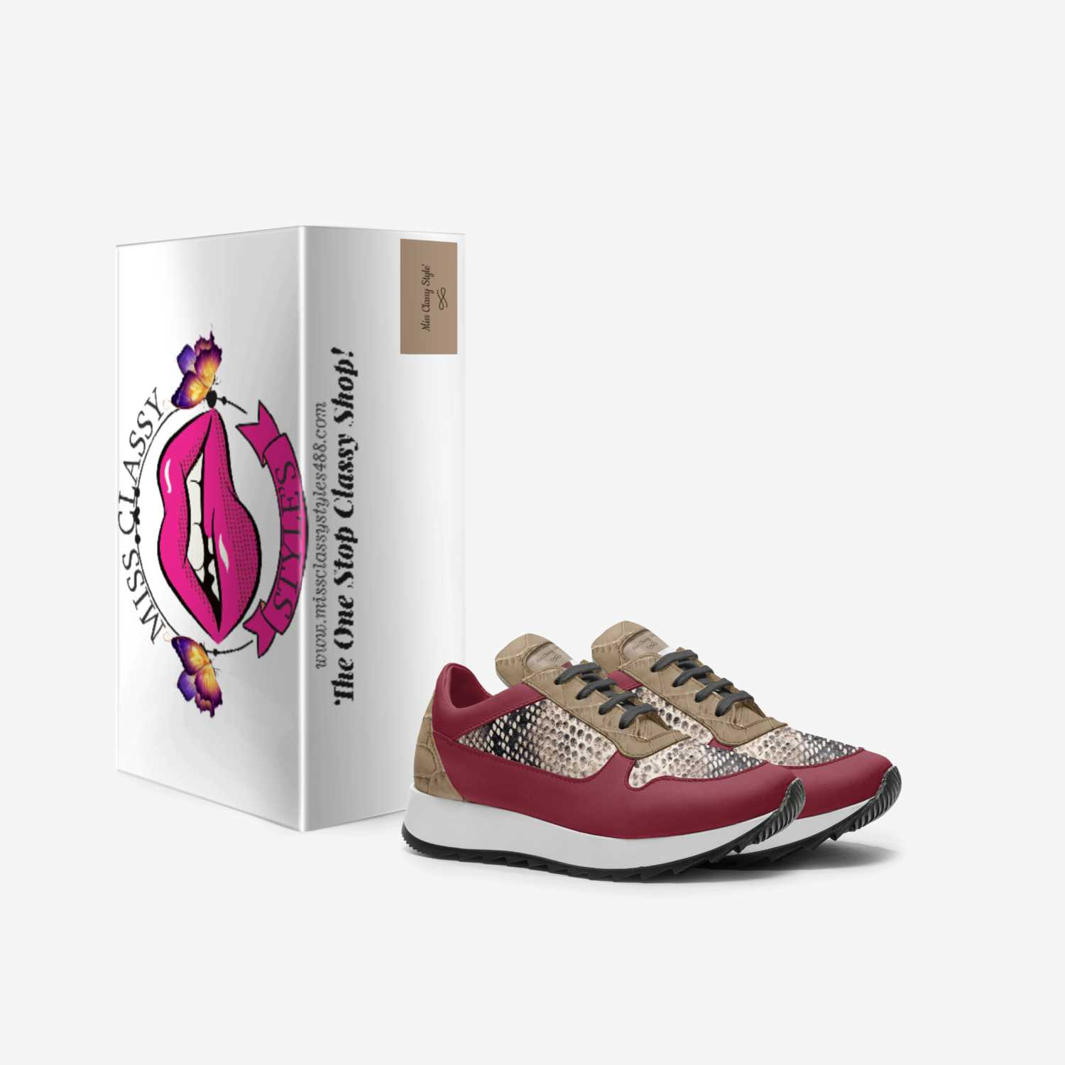 Miss Classy Style' custom made in Italy shoes by Marcie Taylor | Box view