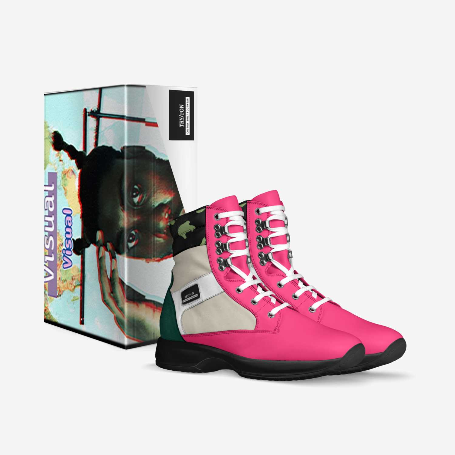 TRY/rON custom made in Italy shoes by Tryron Ramsey | Box view