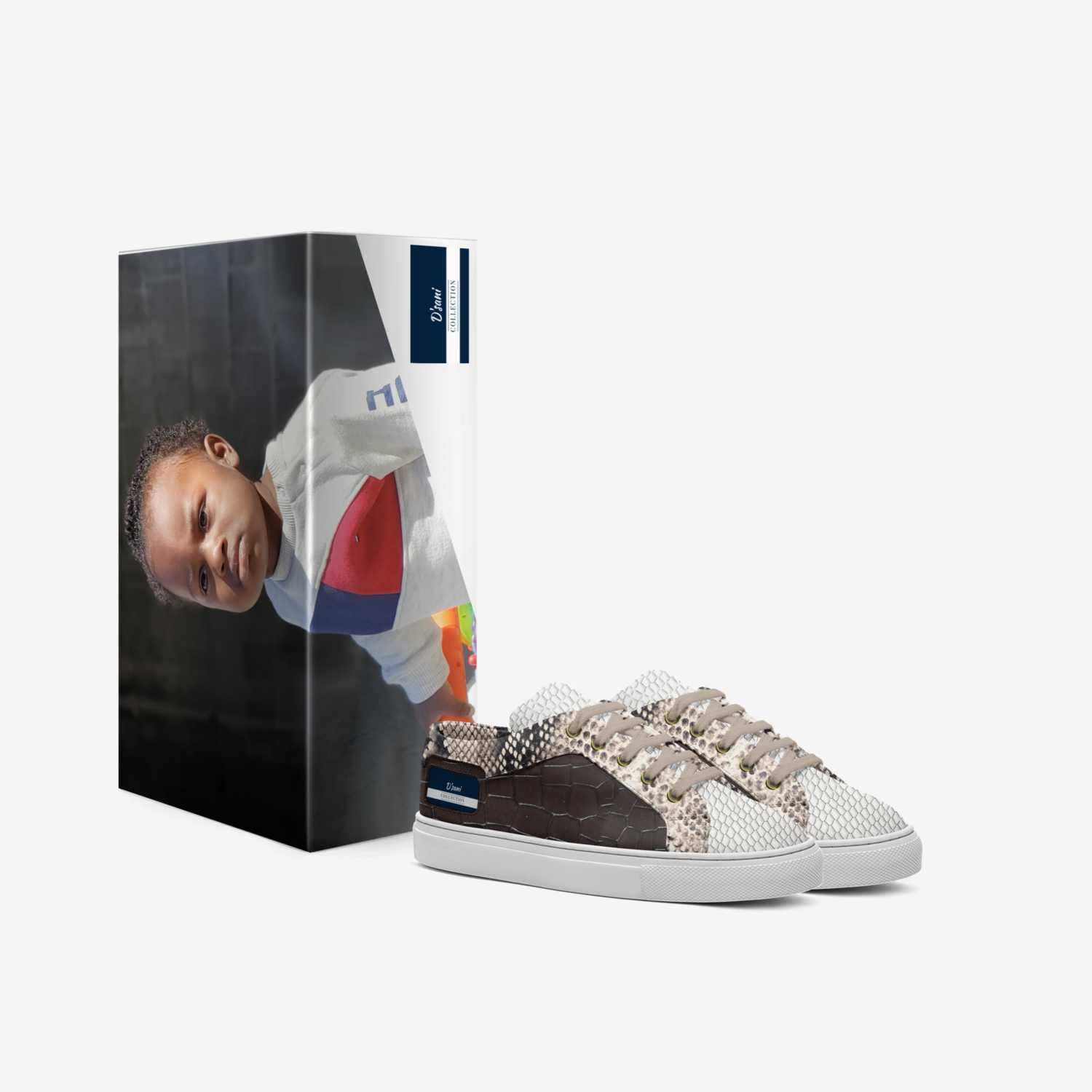 Dasani  custom made in Italy shoes by Ira J Roberson   Box view