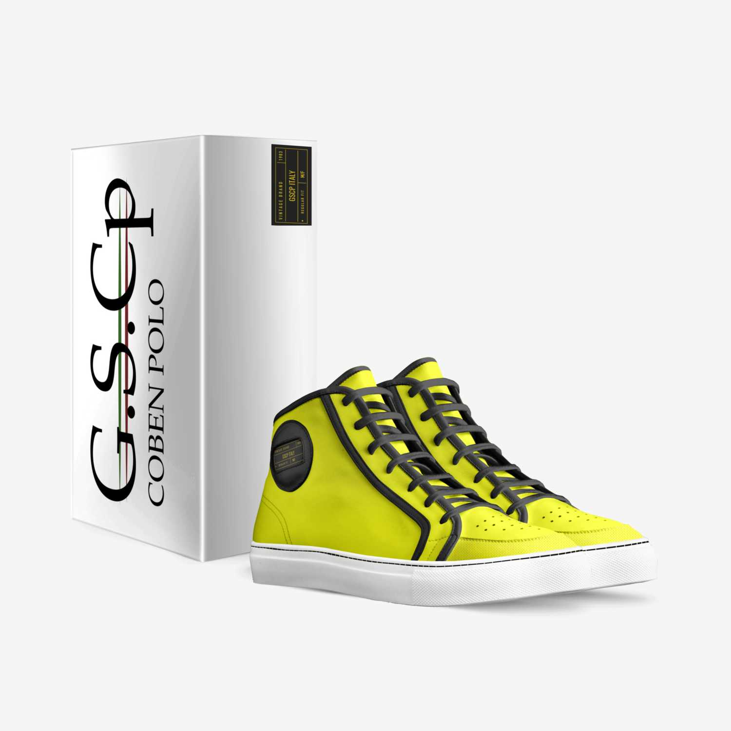 G.S.CP ITALY custom made in Italy shoes by Costa Bentezis | Box view