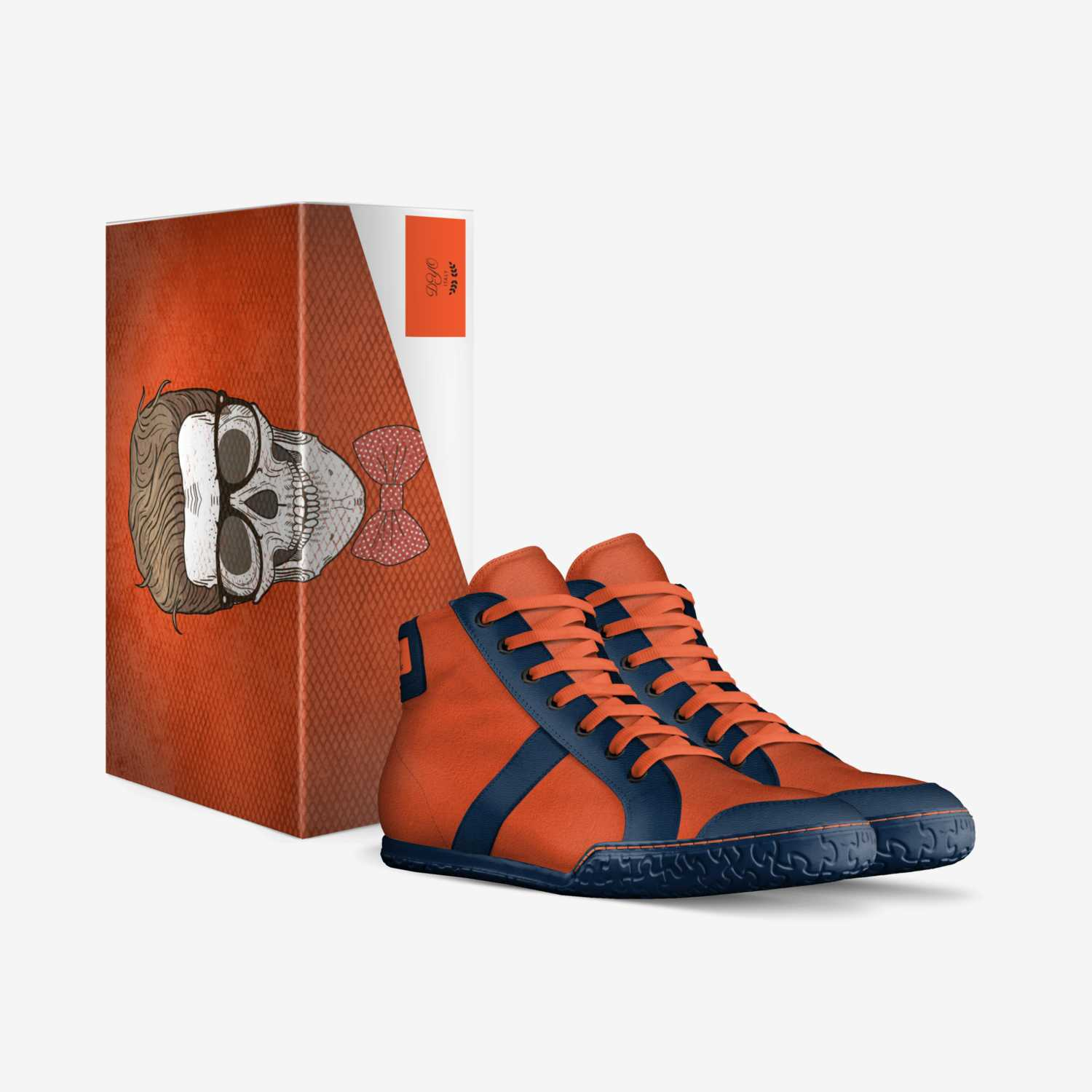 DY100 custom made in Italy shoes by Darryl Nealy | Box view