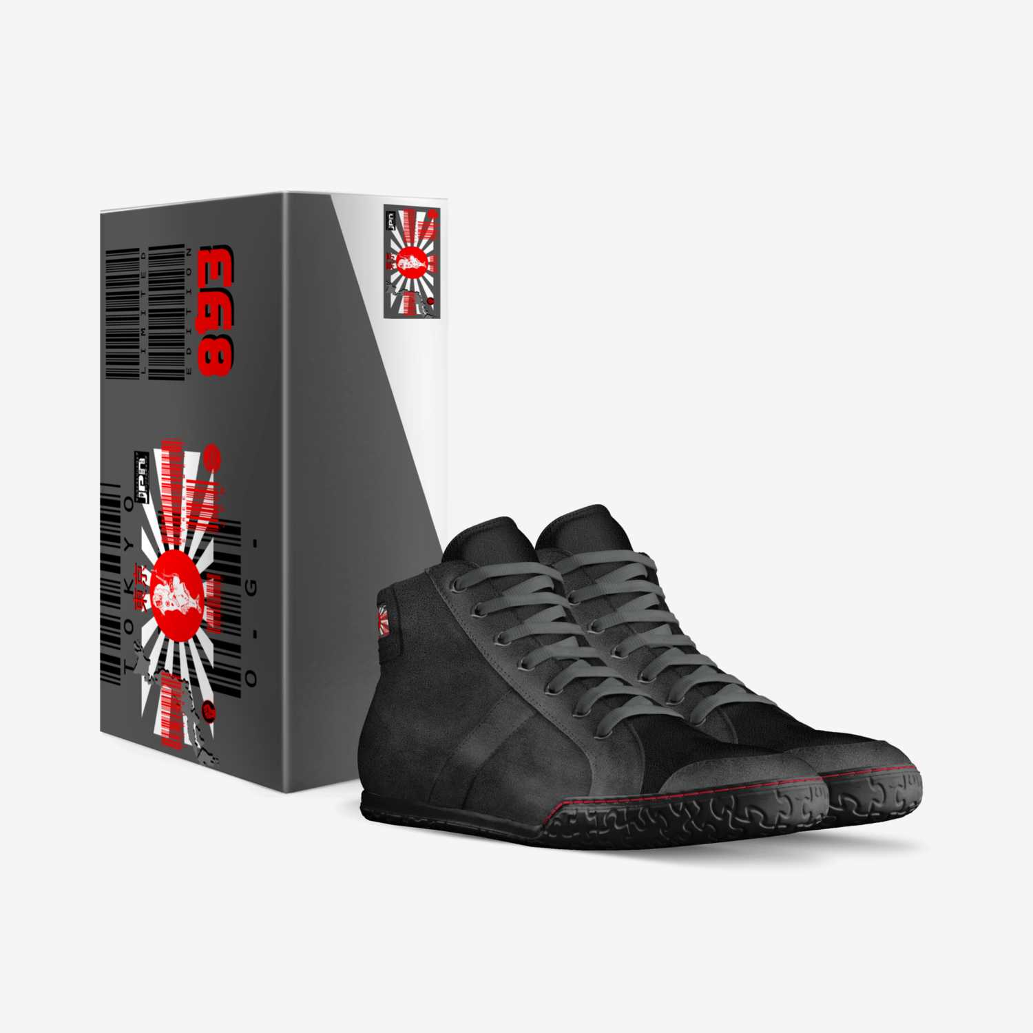 TOKYO 893 custom made in Italy shoes by Kevin Marron   Box view