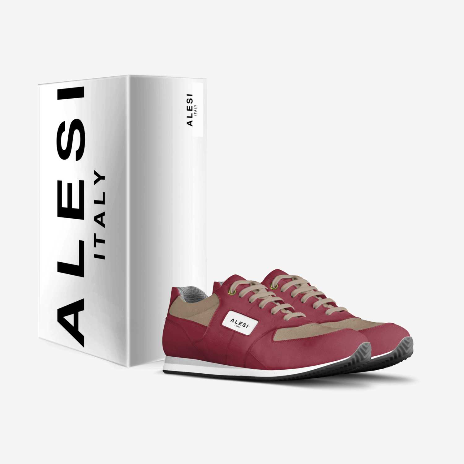 Alesi Runner custom made in Italy shoes by Lonanthony Parker | Box view