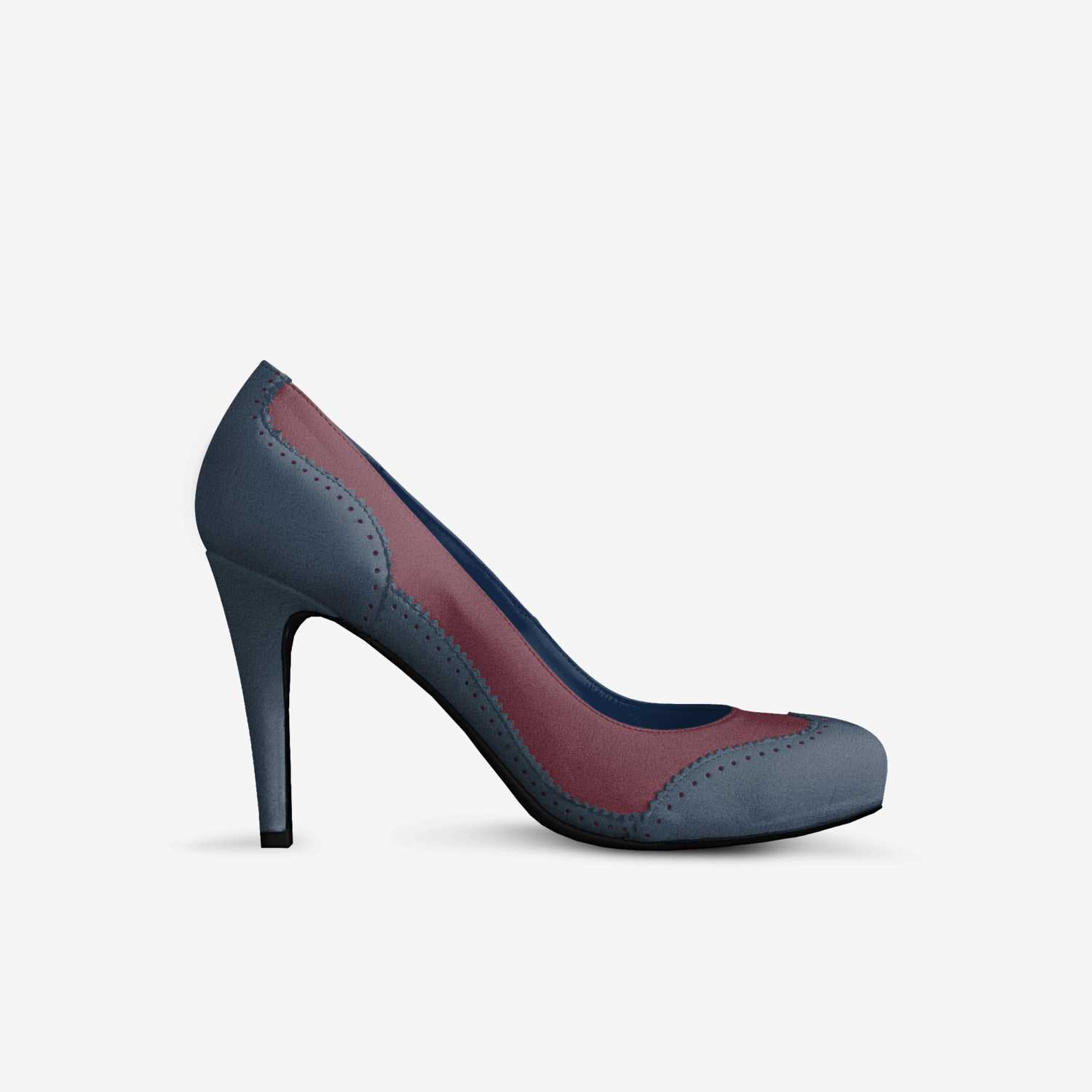 Dee by Diana custom made in Italy shoes by Diana Soukar   Side view